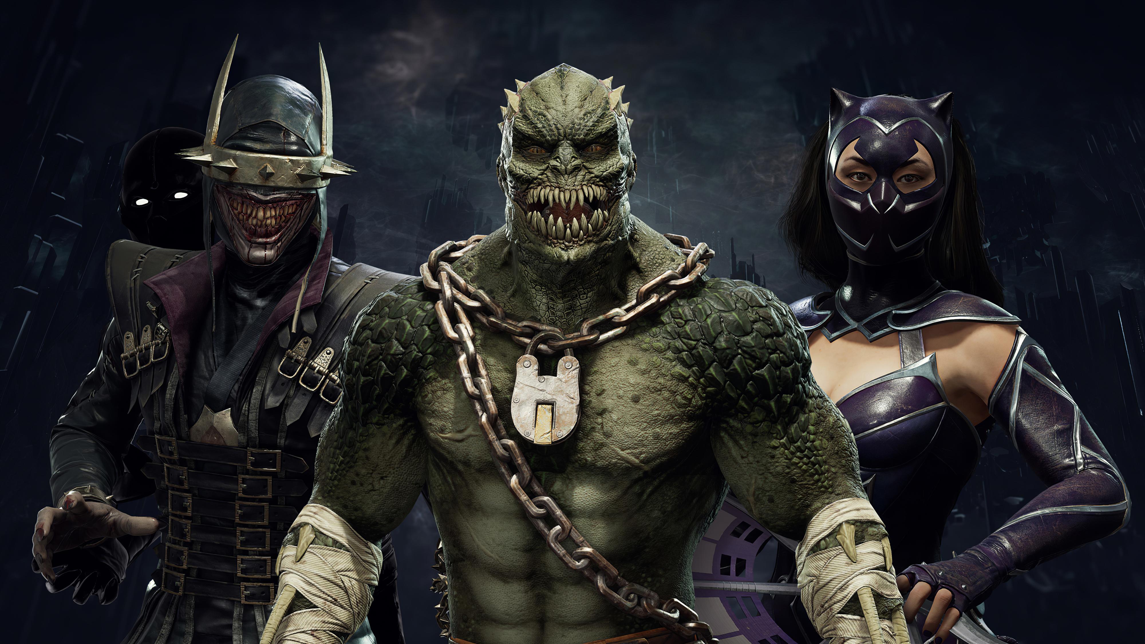 Wallpaper 4k Dc Elseworlds Skin Pack Mortal Kombat 11 Dc