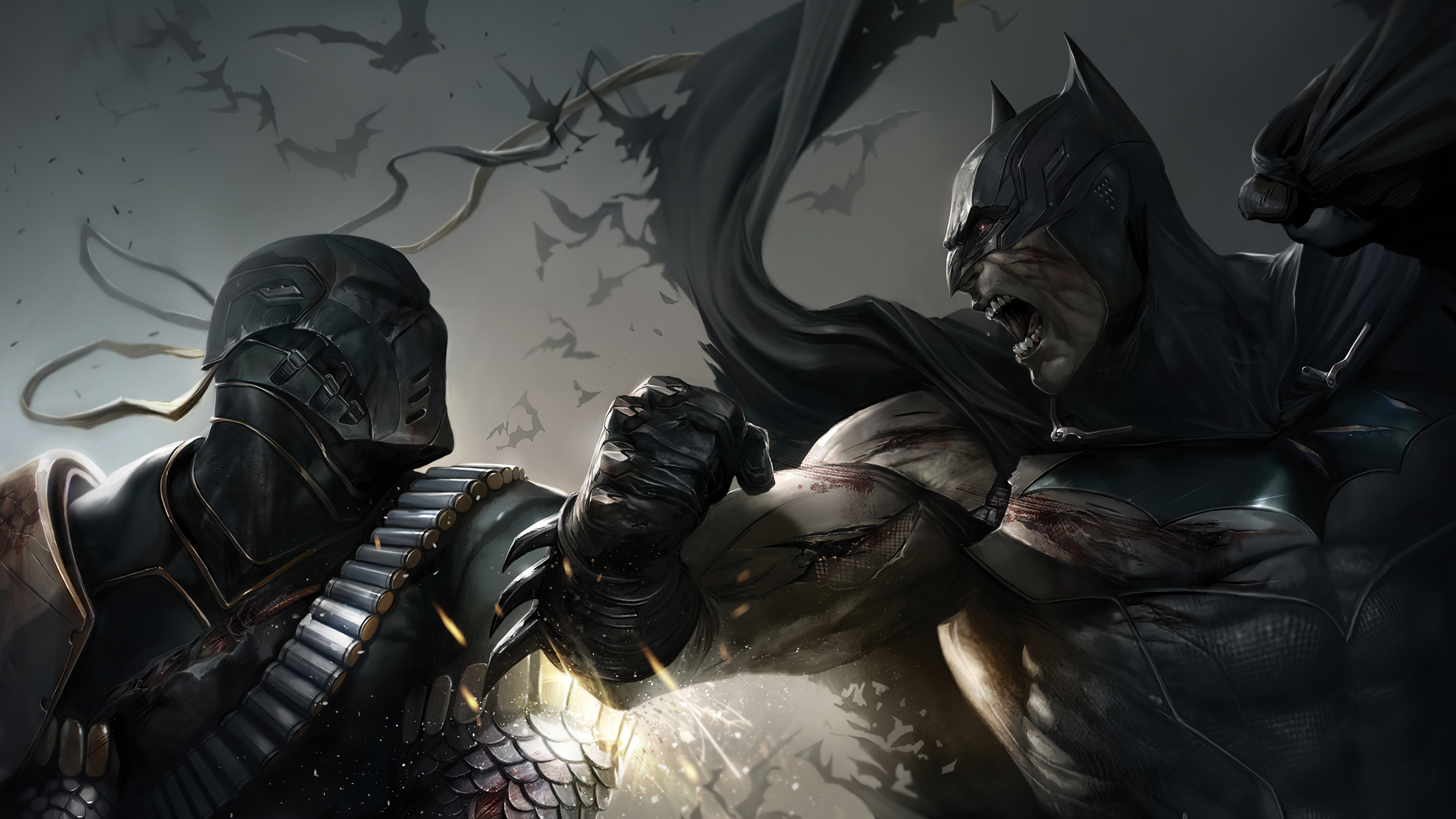 deathstroke vs batman 1581357663 - Deathstroke vs Batman - Deathstroke vs Batman wallpapers, Deathstroke vs Batman 4k wallpapers, Deathstroke and Batman wallpapers 4k