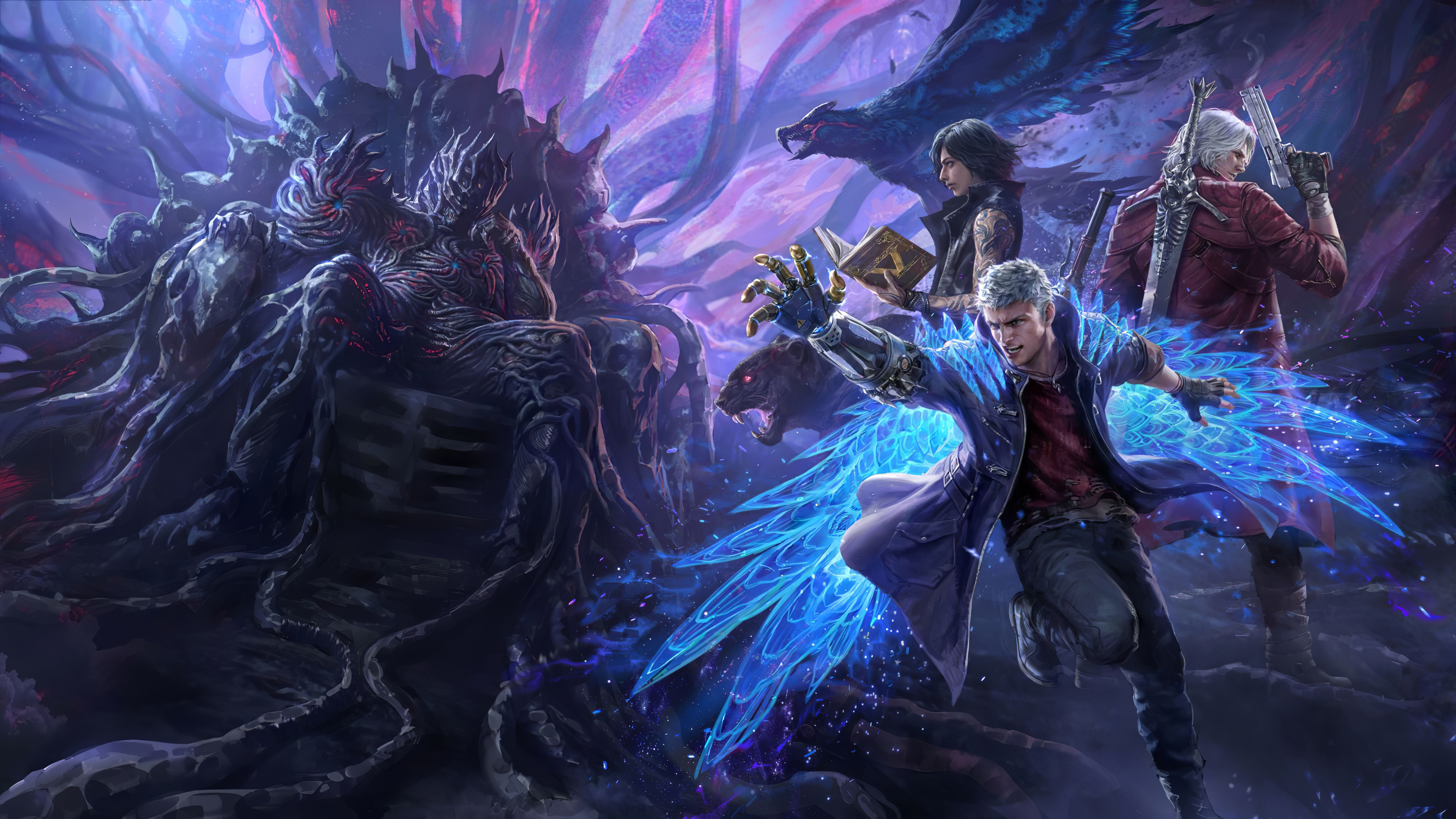 Wallpaper 4k Devil May Cry Pack Teppen Devil May Cry Pack Teppen