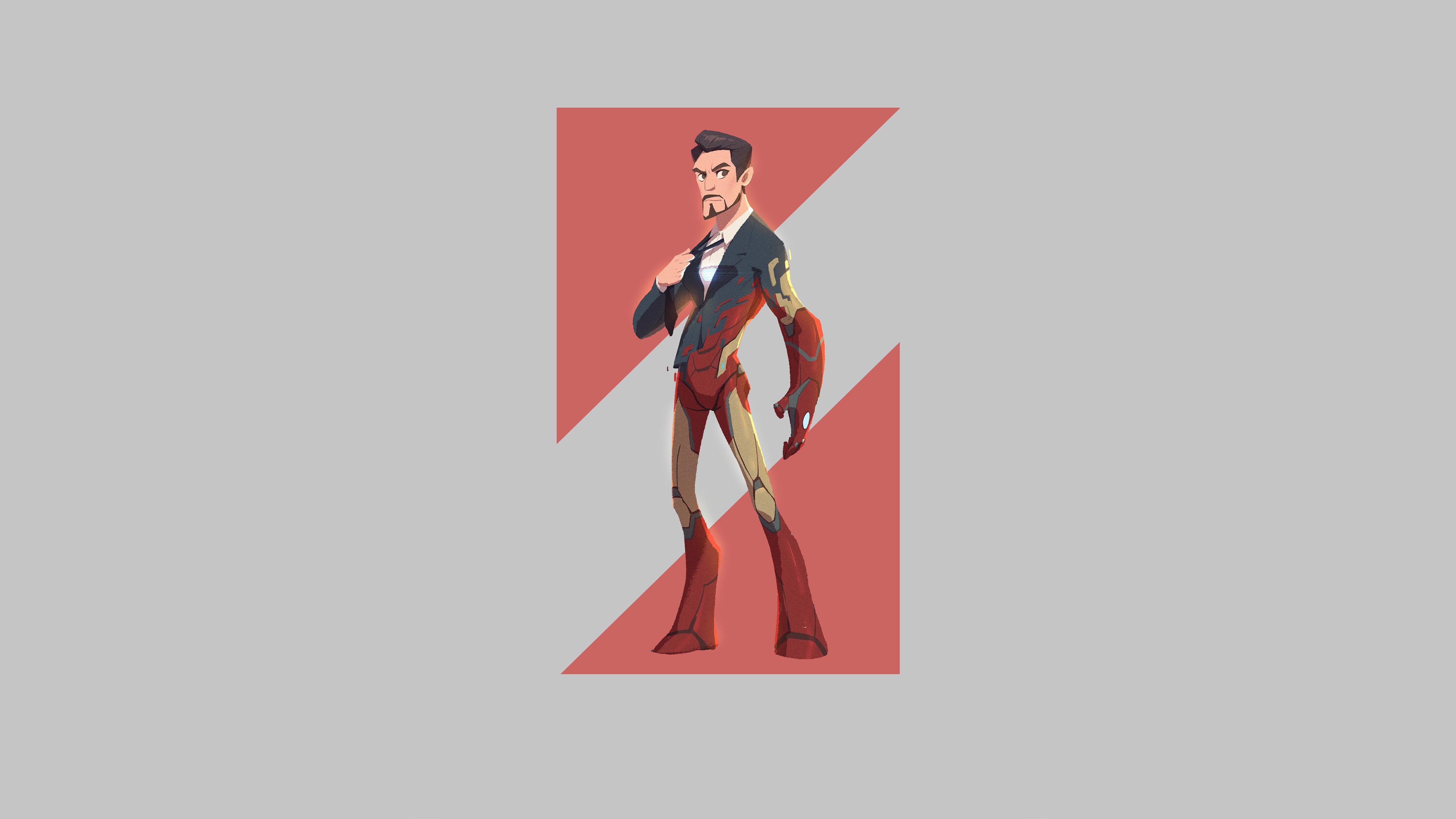 iron man minimal 1580585429 - Iron Man Minimal - Iron Man Minimal wallpapers, Iron Man minimal phone wallpapers 4k, Iron Man Minimal 4k wallpapers