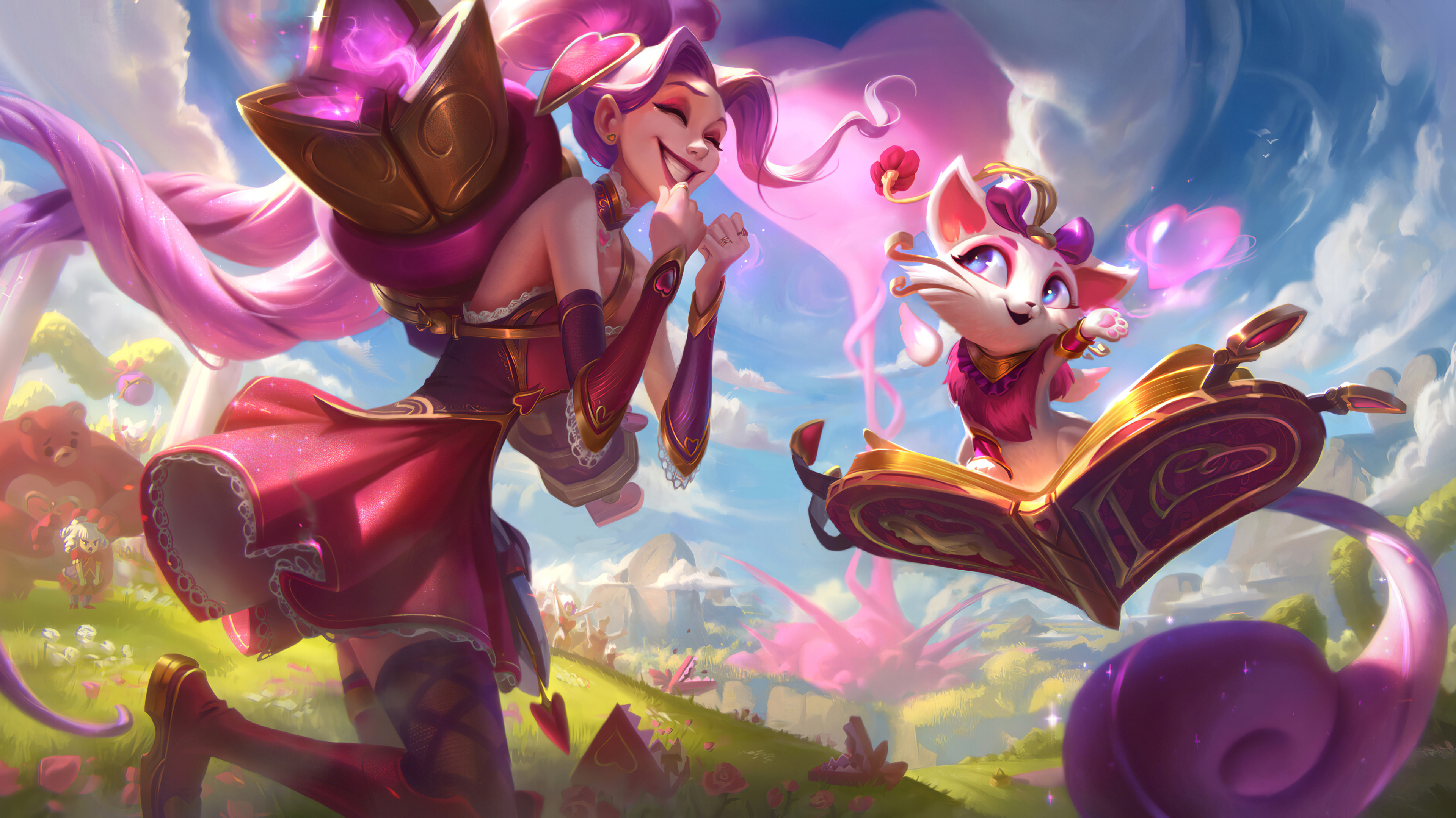 Wallpaper 4k Jinx And Yummi Jinx And Yummi 4k Wallpapers Jinx And
