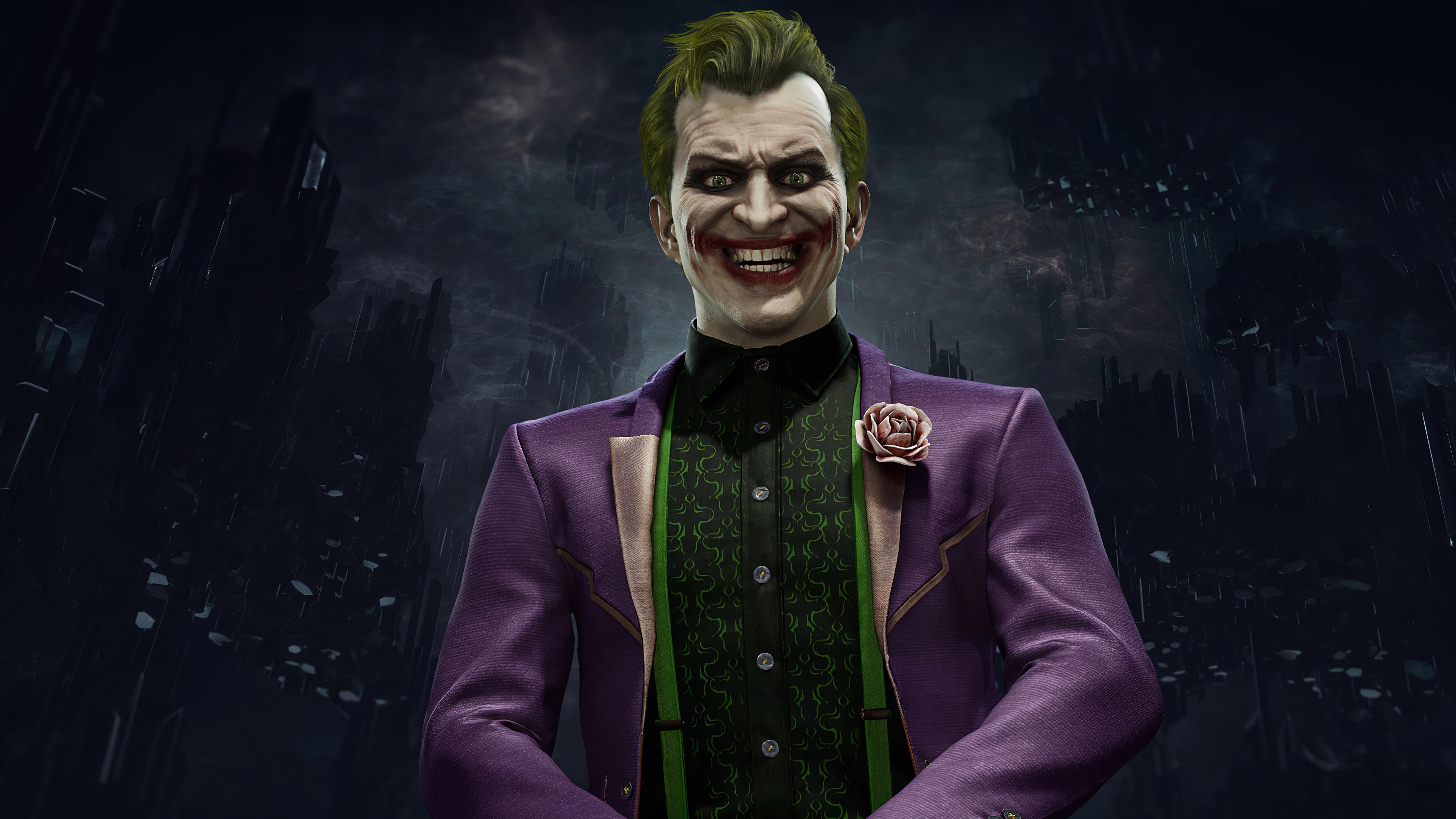 Wallpaper 4k Joker In Mortal Kombat 11 2020 Joker In Mortal Kombat