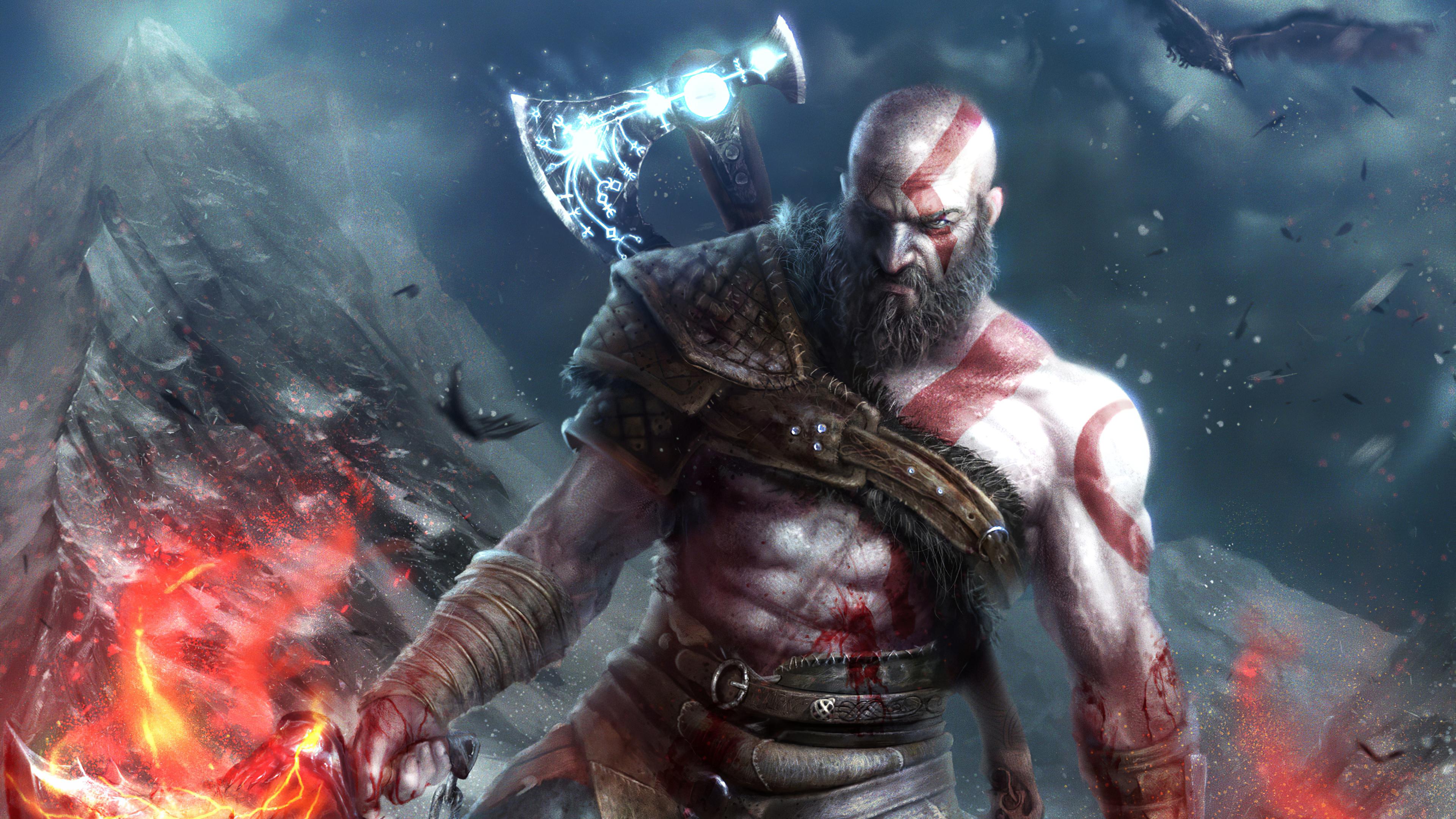 Wallpaper 4k Kratos God Of War Kratos God Of War 4k Wallpapers