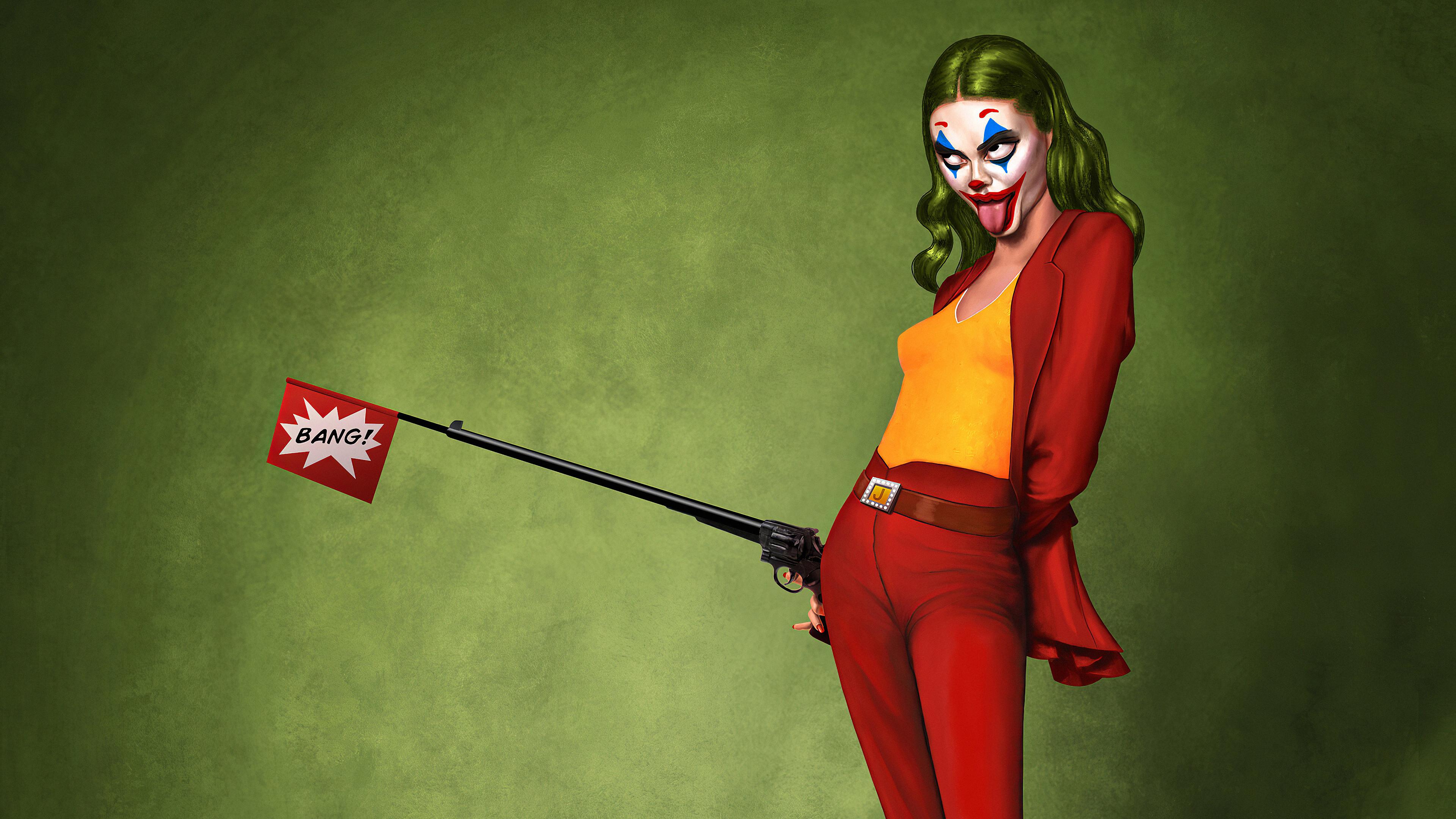 Wallpaper 4k Lady Joker Art Lady Joker Art 4k Wallpapers Lady Joker Artwork Wallpapers Lady Joker Wallpapers