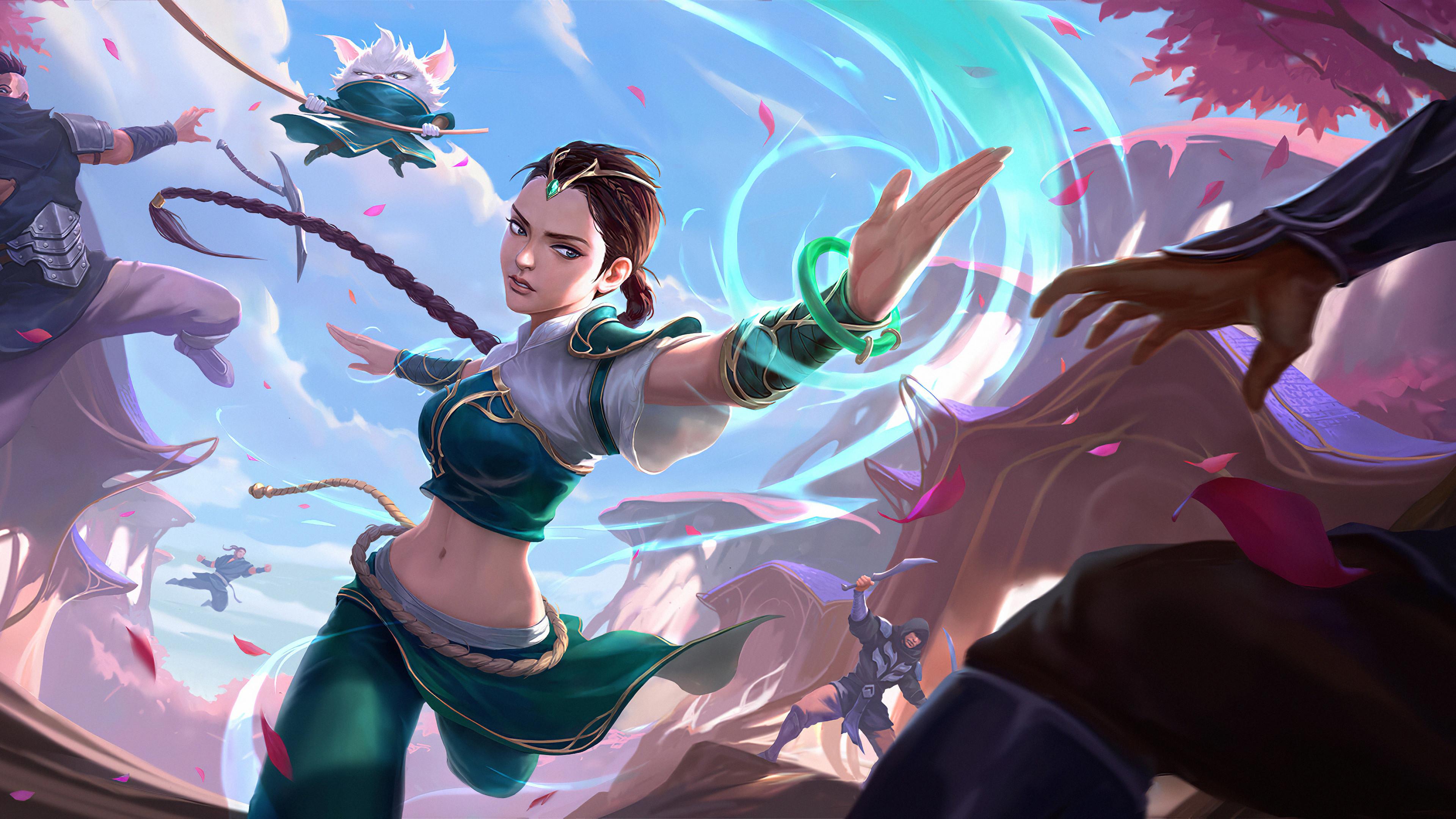 runterra league of legends 4k 3840x2160 1 - Runeterra League Of Legends - Runeterra wallpapers 4k lol, Runeterra League Of Legends wallpapers