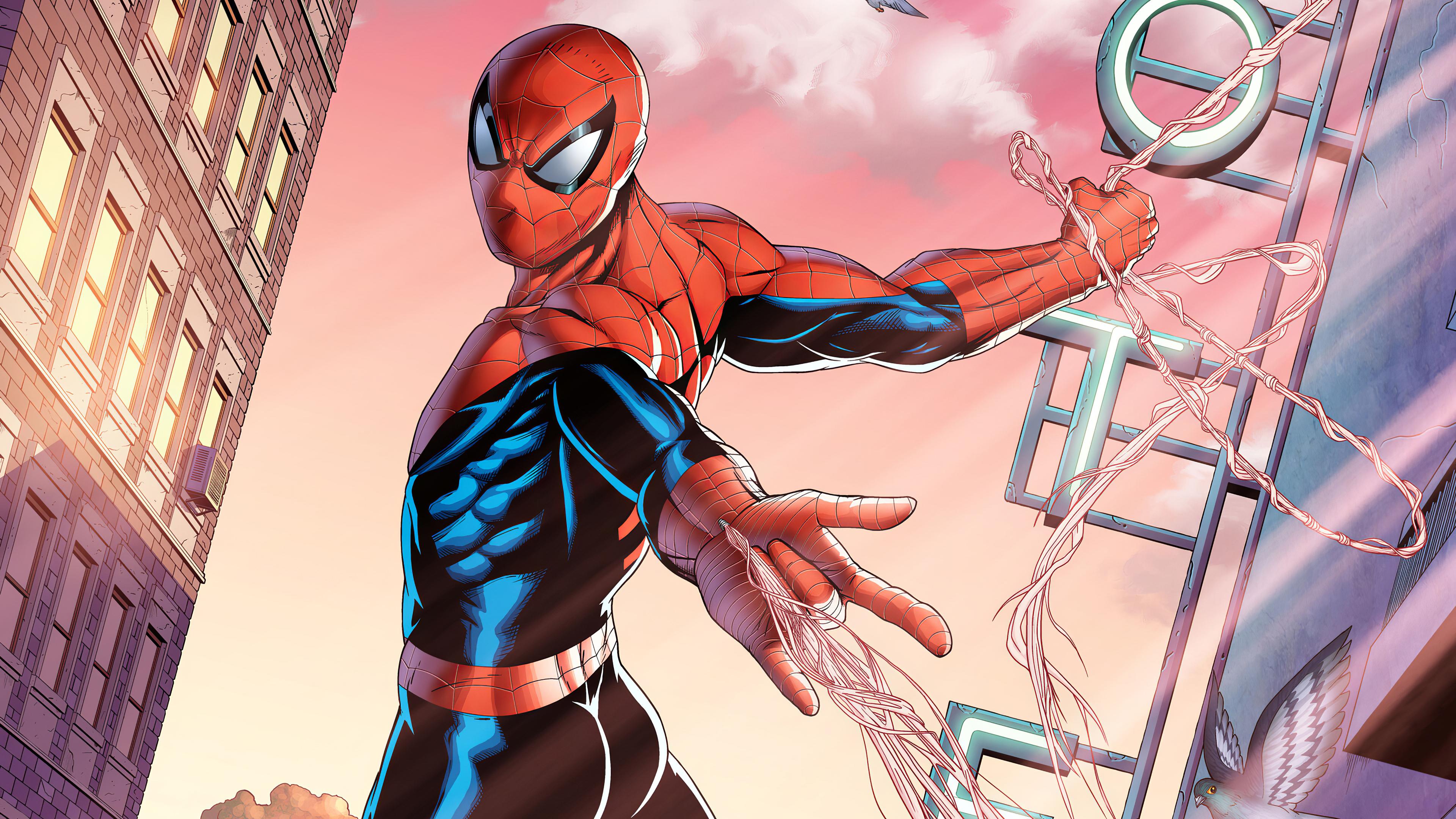 Spiderman Comic Art Spider man wallpapers, spider man ...
