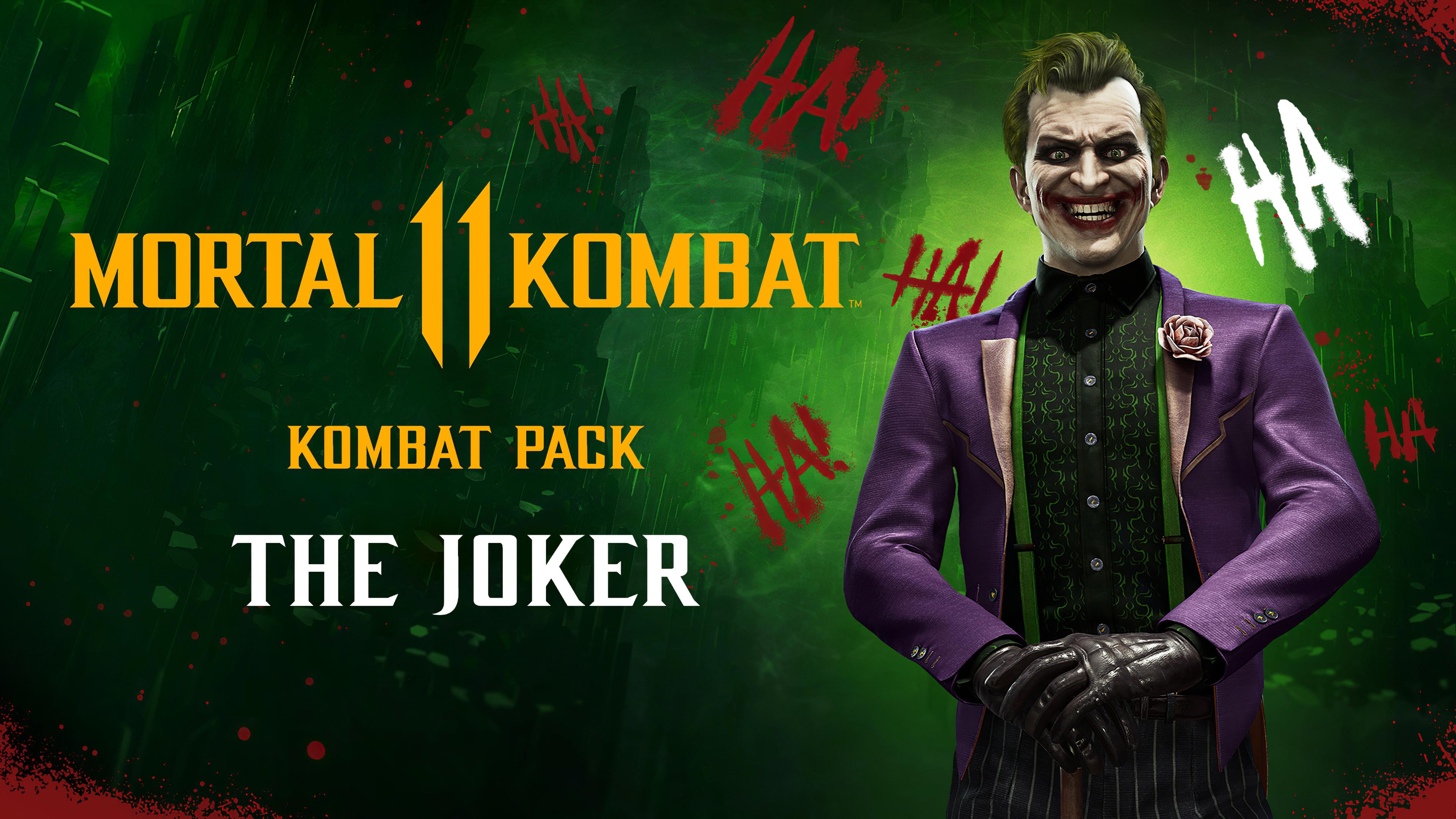 Wallpaper 4k The Joker Mortal Kombat 11 Joker In Mortal Kombat 11