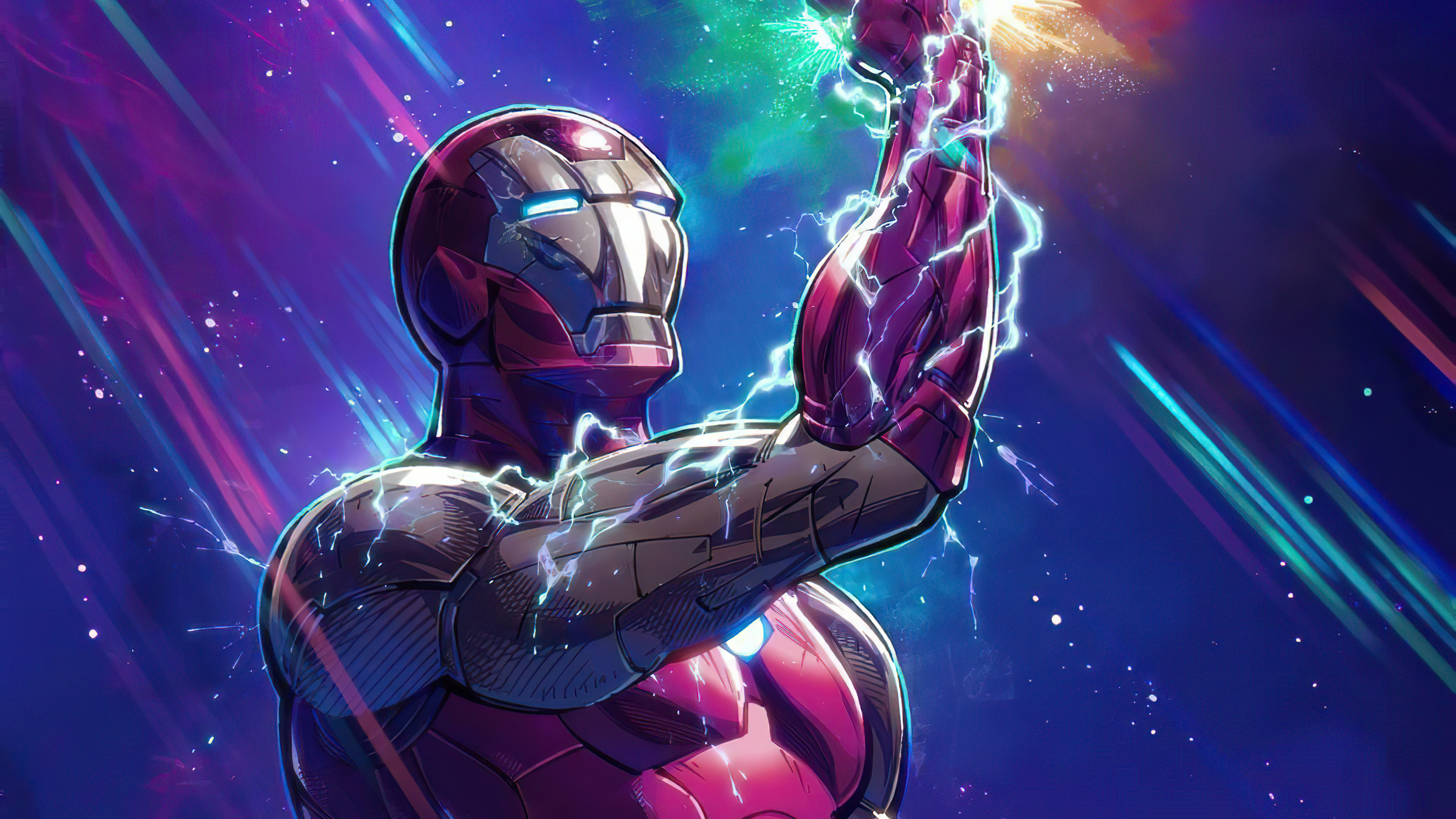 2020 Iron Man Infinity Gauntlet