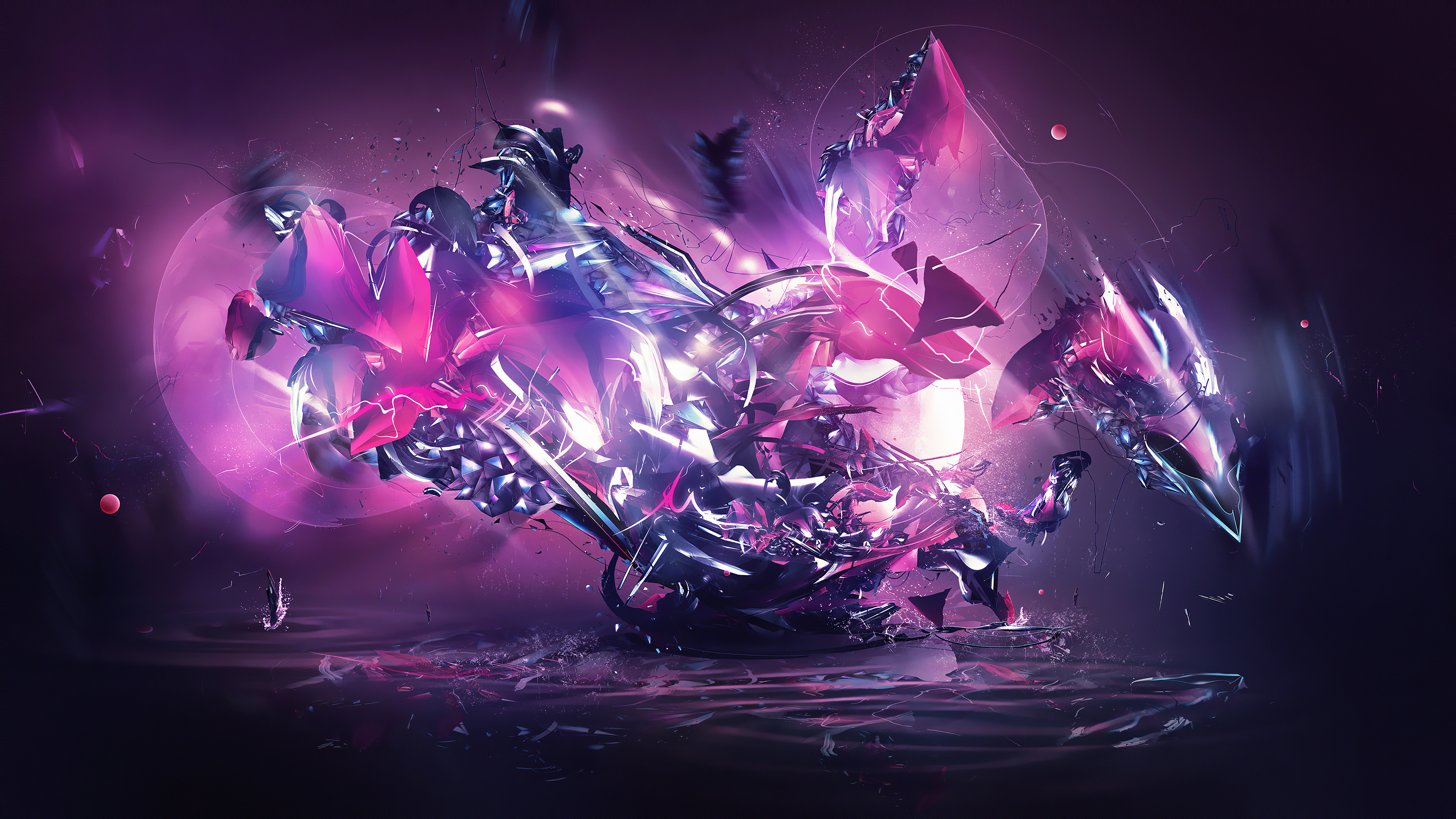 abstract colorful destruction splash 1596925438 - Abstract Colorful Destruction Splash -