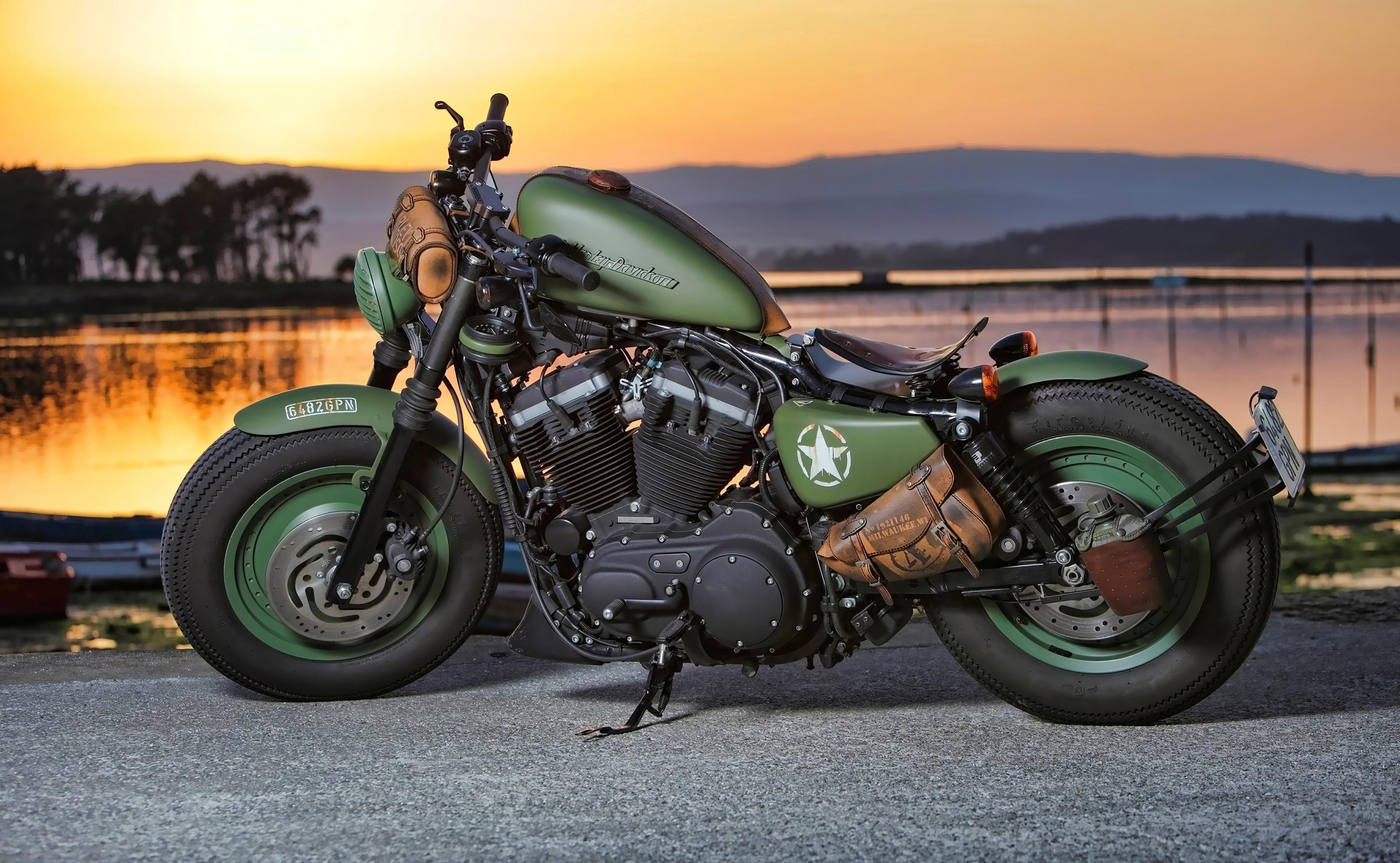 green harley davidson 1596922193 - Green Harley Davidson - harley davidson green wallpapers 4k, Green Harley Davidson wallpapers, Green Harley Davidson 4k wallpapers