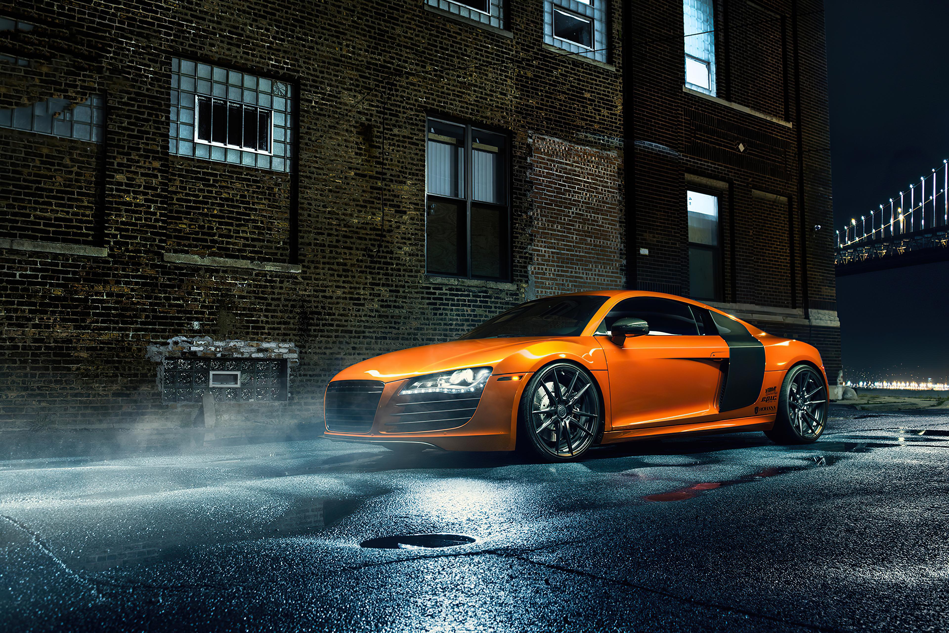 orange audi r8 1596908092 - Orange Audi R8 -