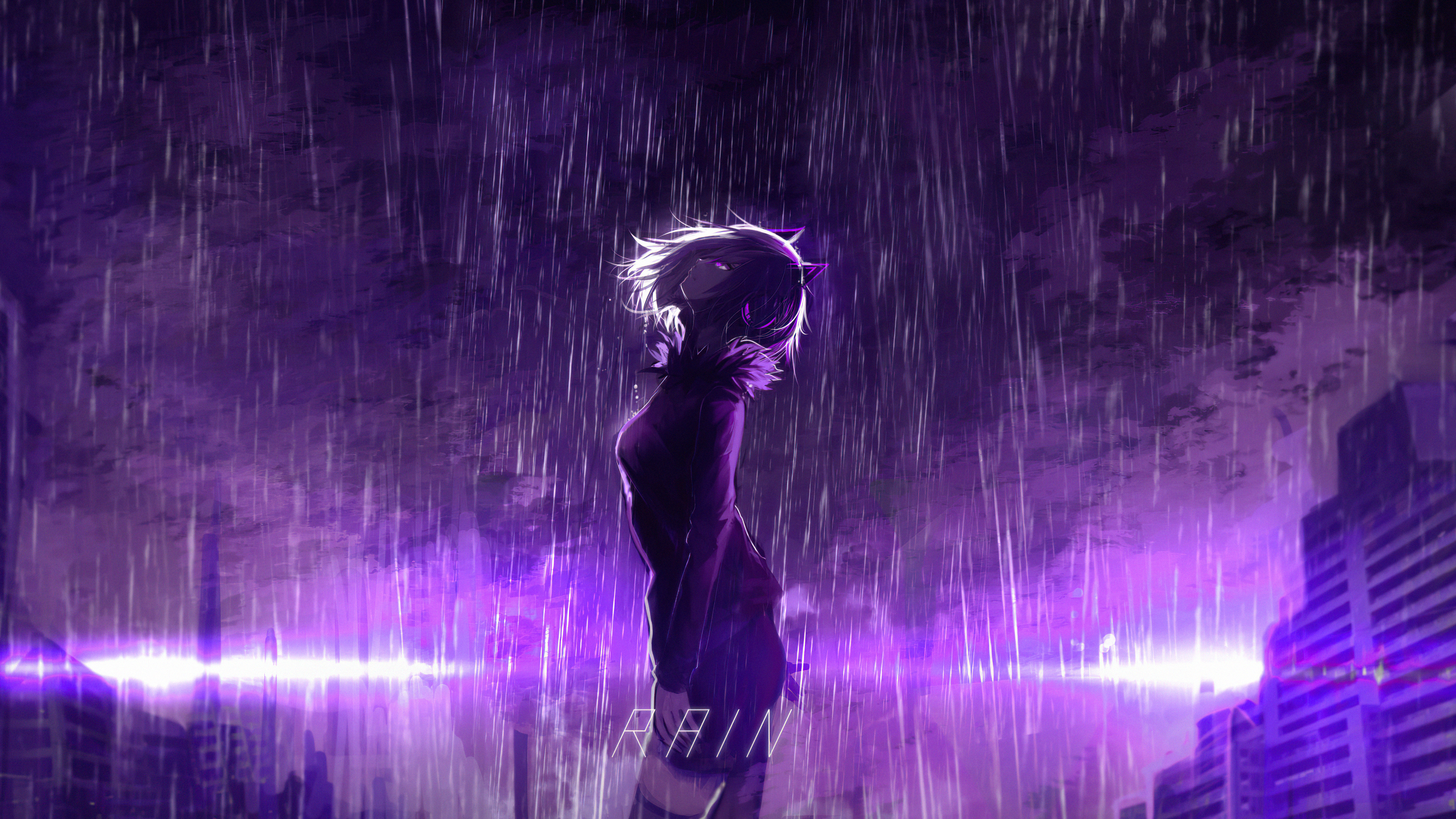 Wallpaper 4k Purple Rain