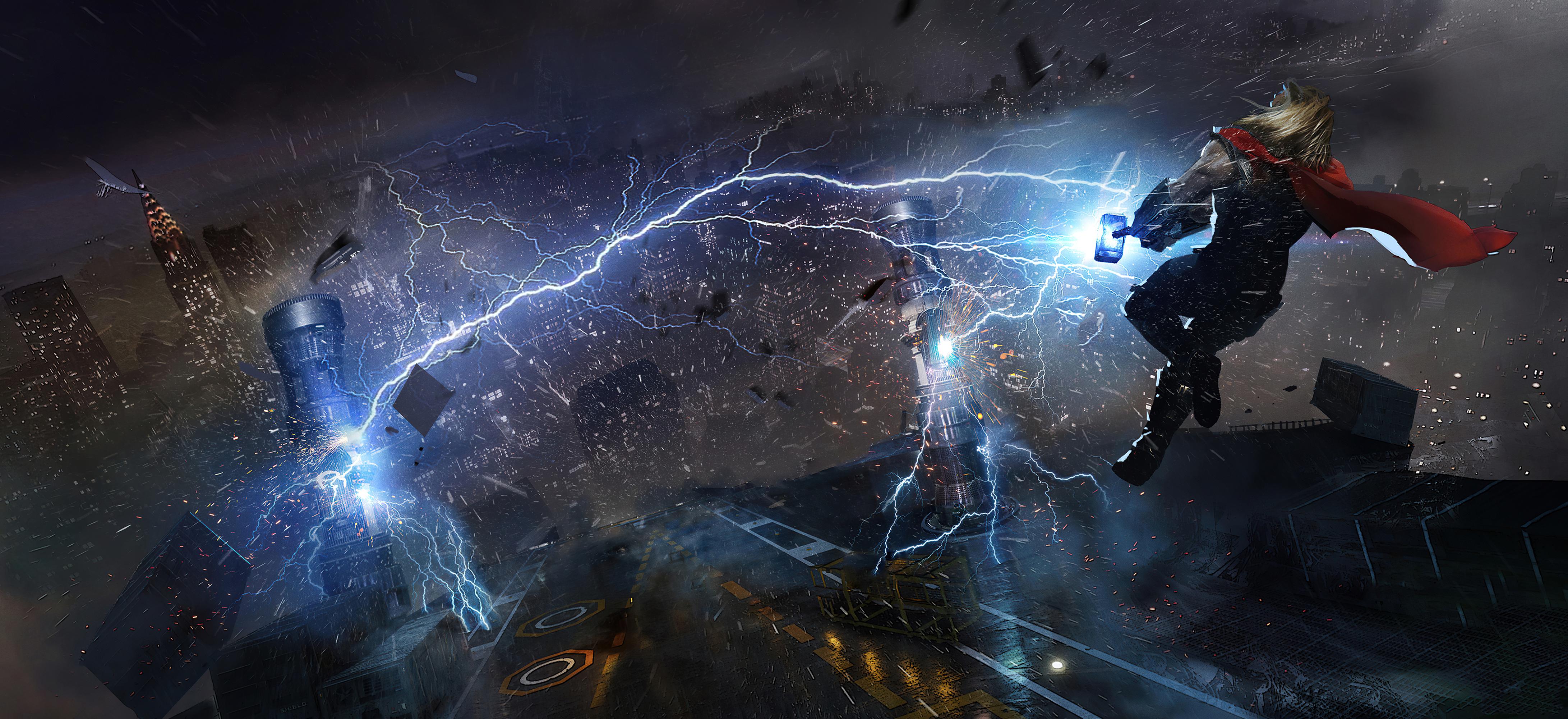 Wallpaper 4k Thor In Marvels Avengers Thor In Marvels Avengers 4k Wallpapers