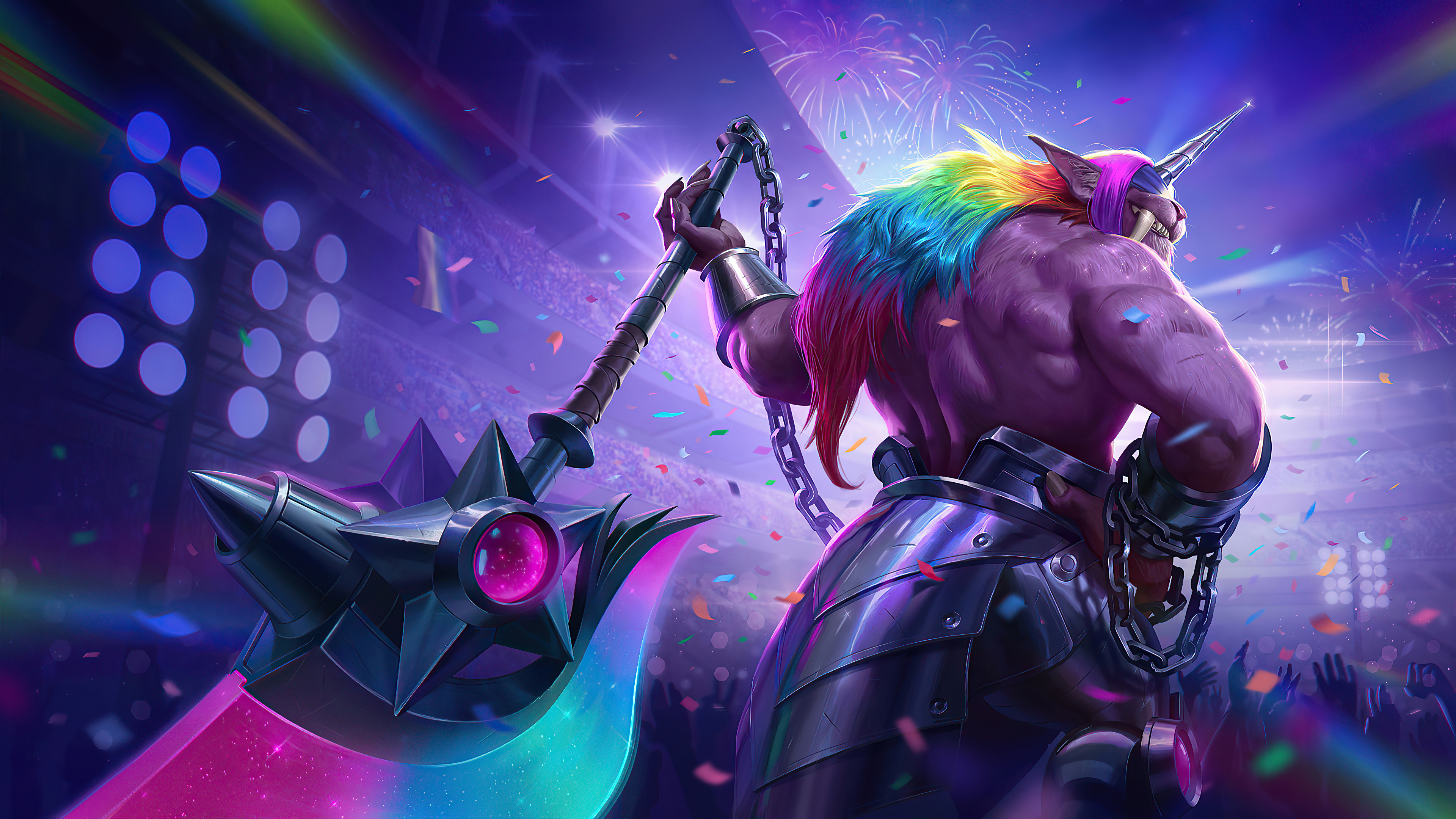 vainglory rainbow glaive 4k 1598657748 - Vainglory Rainbow Glaive 4k -