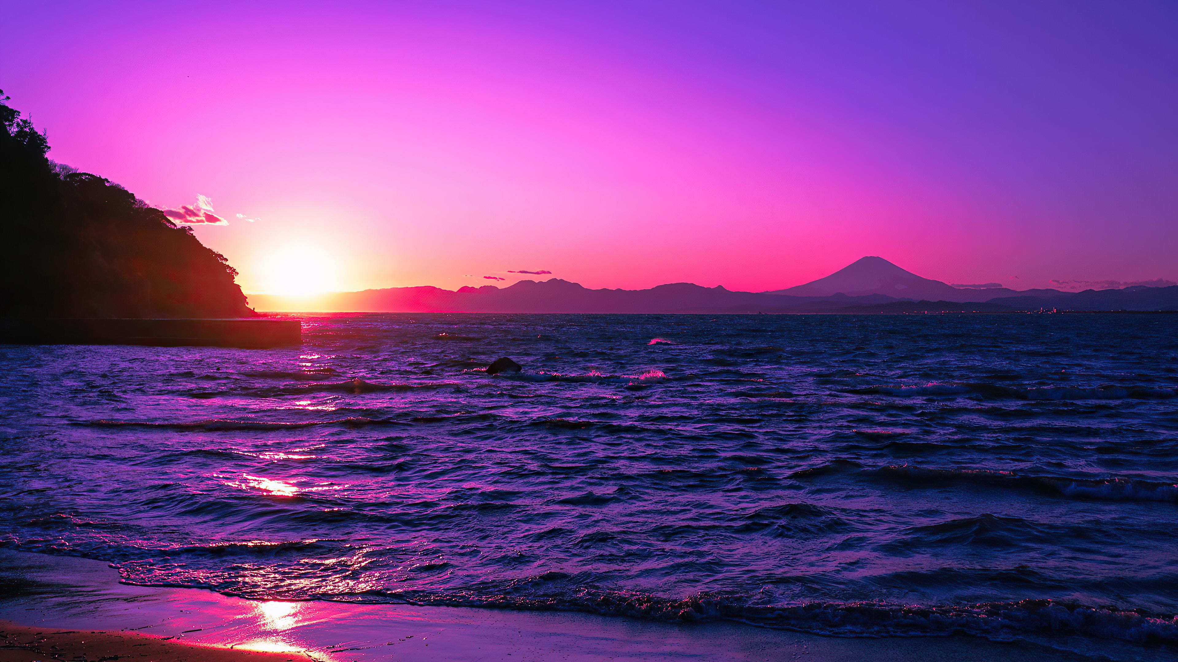 beautiful evening purple sunset 4k 1602533719 - Beautiful Evening Purple Sunset 4k - Beautiful Evening Purple Sunset 4k wallpapers
