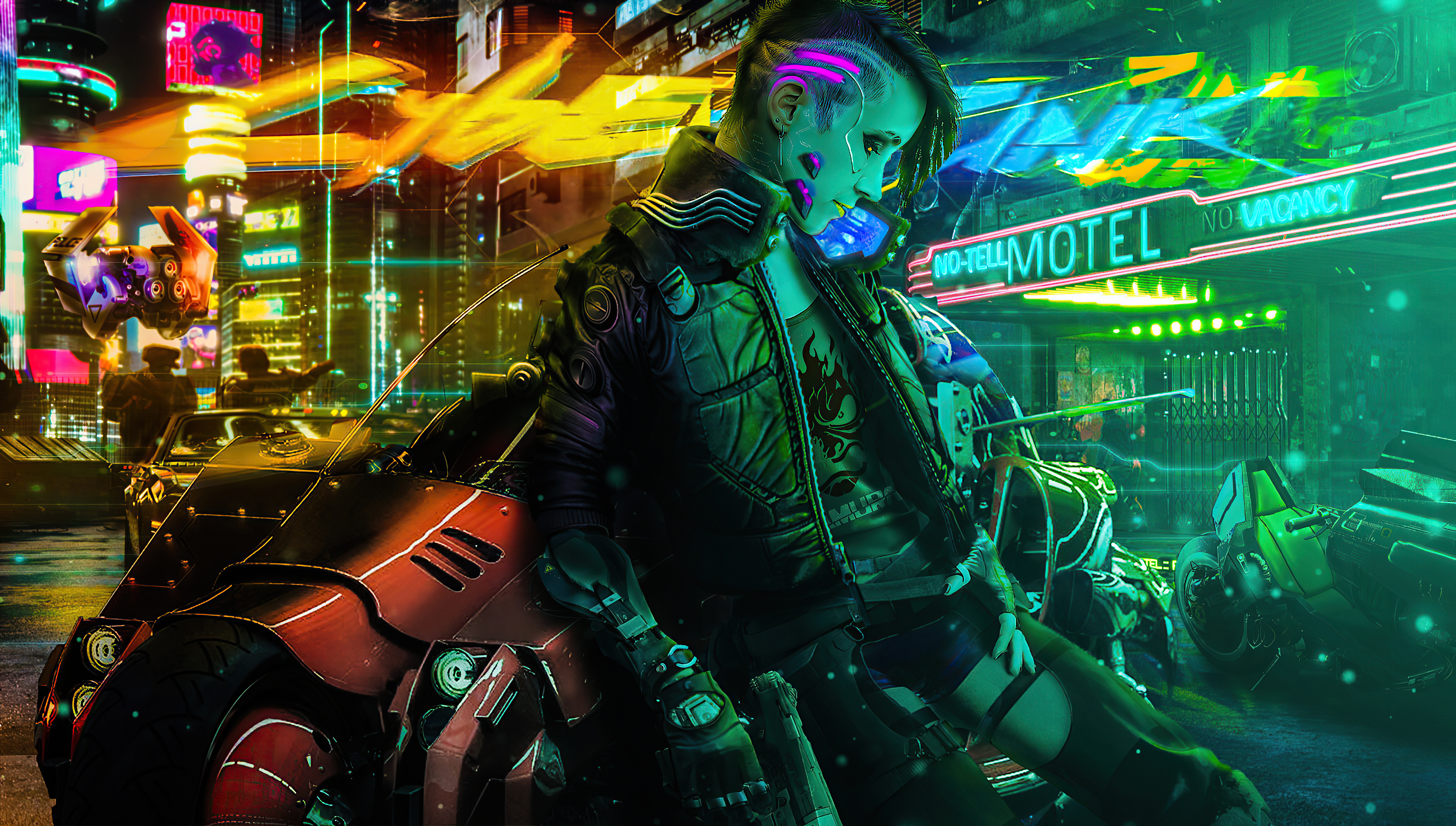 Wallpaper 4k Cyberpunk Girl Biker New 2020 4k Cyberpunk Girl Biker New 2020 4k Wallpapers