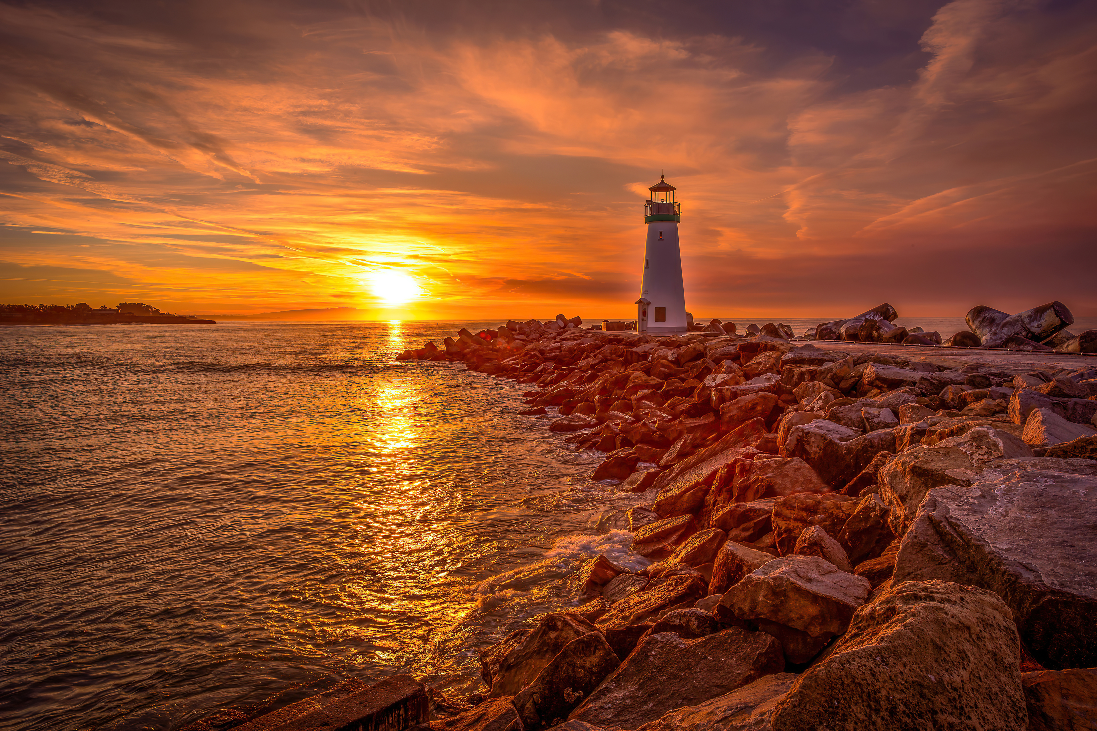 lighthouse sunrise and sunset 4k 1602504270 - Lighthouse Sunrise And Sunset 4k - Lighthouse Sunrise And Sunset 4k wallpapers