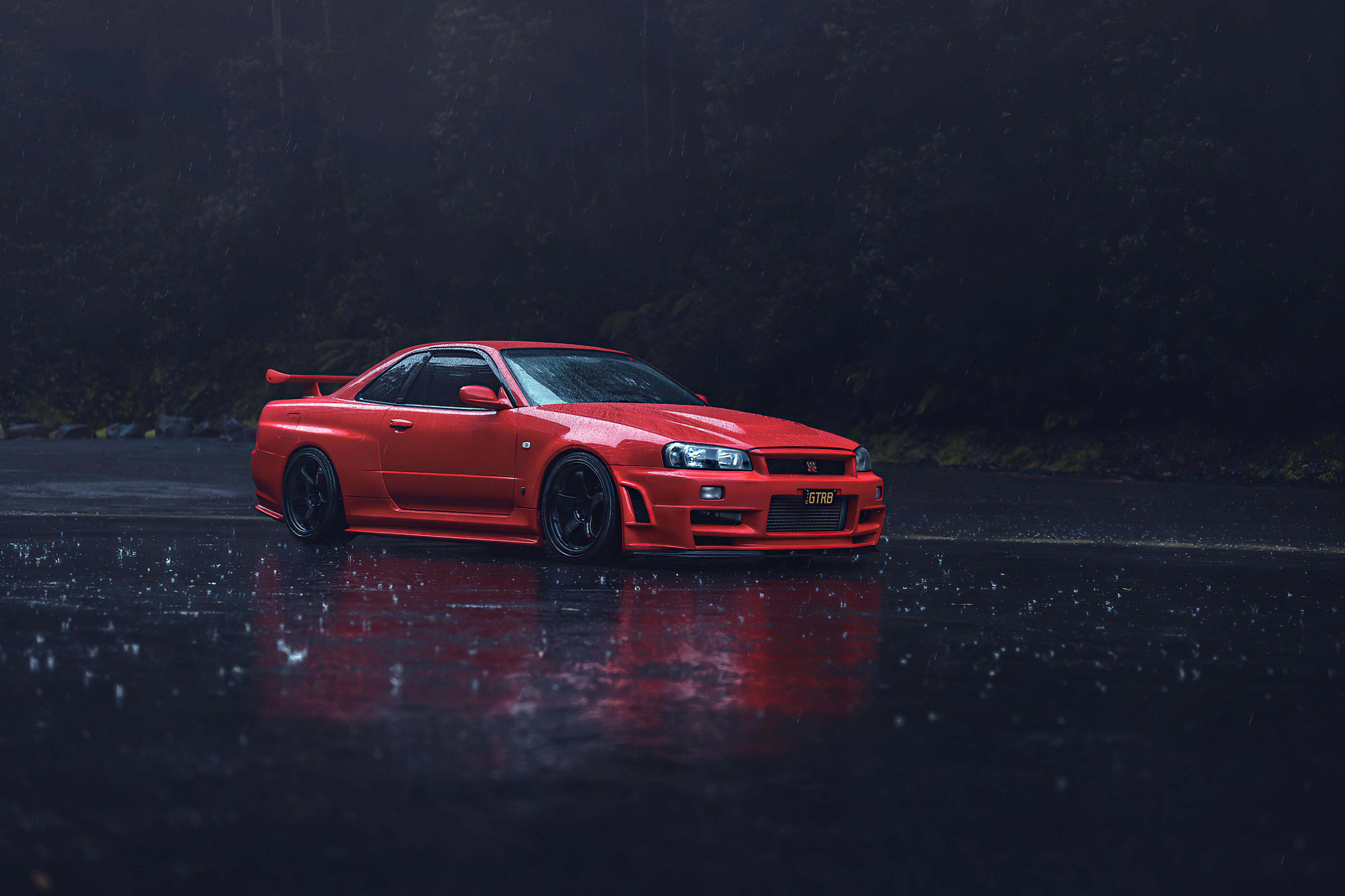red nissan gtr r34 4k 1602451220 - Red Nissan GTR R34 4k - Red Nissan GTR R34 4k wallpapers