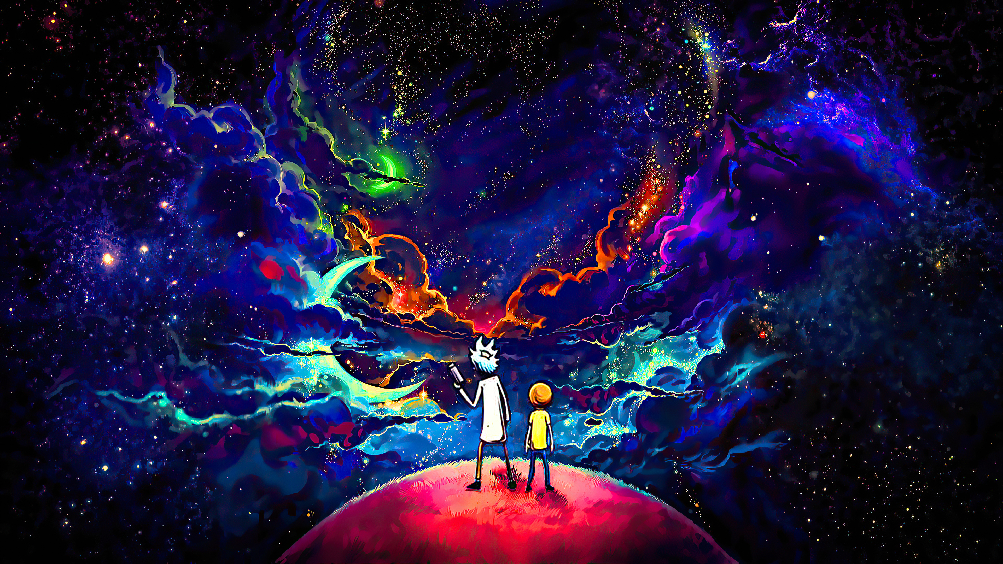 rick and morty orange space art 4k 1602452335 - Rick And Morty Orange Space Art 4k - Rick And Morty Orange Space Art 4k wallpapers