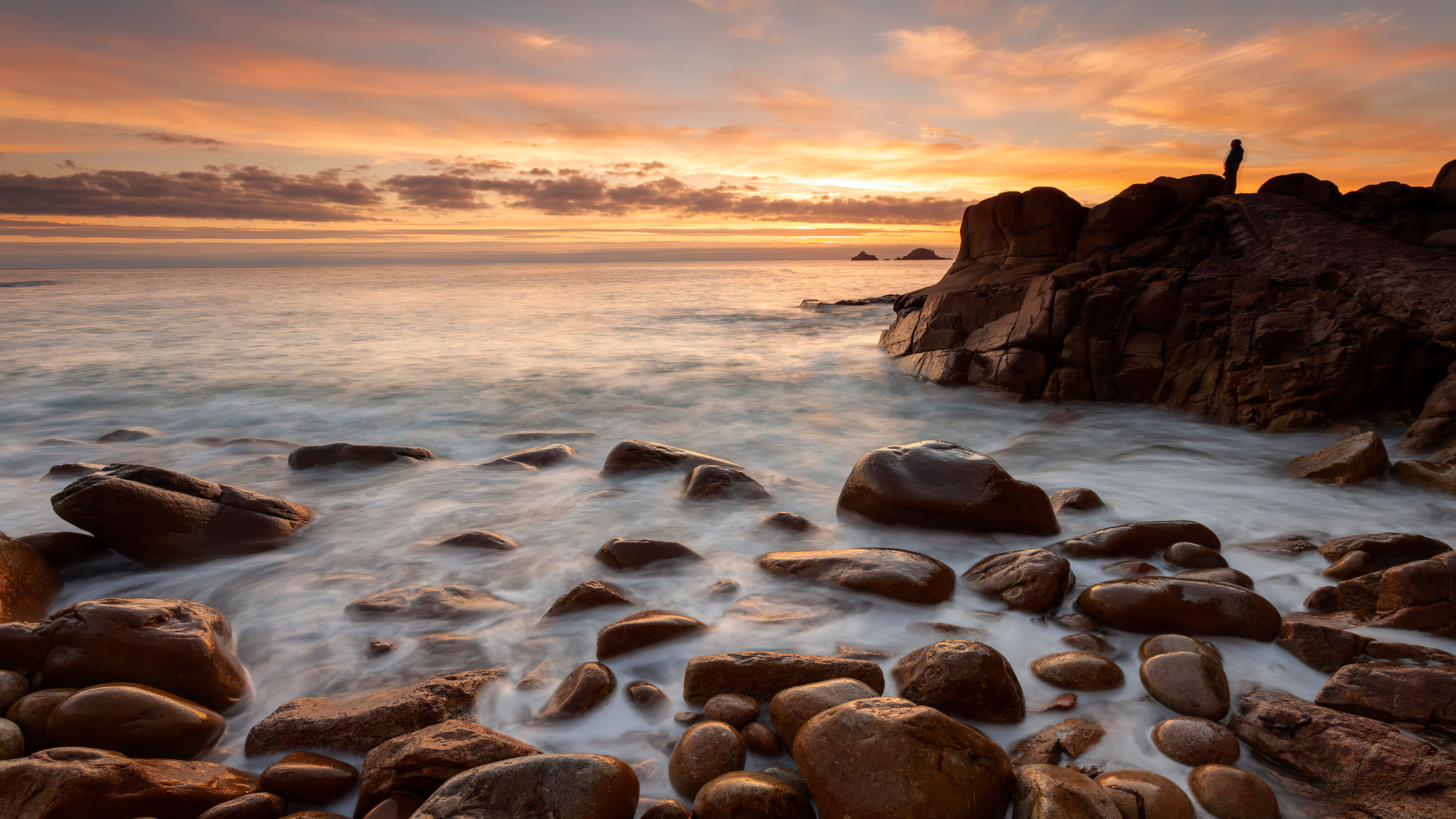 rocks shore long exposure 4k 1602501691 - Rocks Shore Long Exposure 4k - Rocks Shore Long Exposure 4k wallpapers