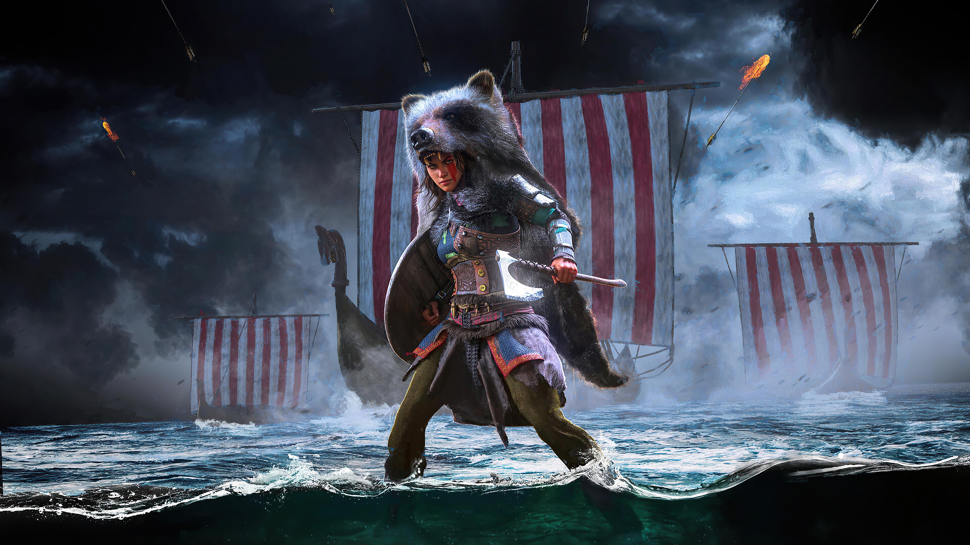 assassins creed valhalla queen 2020 4k 1604867609 - Assassins Creed Valhalla Queen 2020 4k - Assassins Creed Valhalla Queen 2020 4k wallpapers