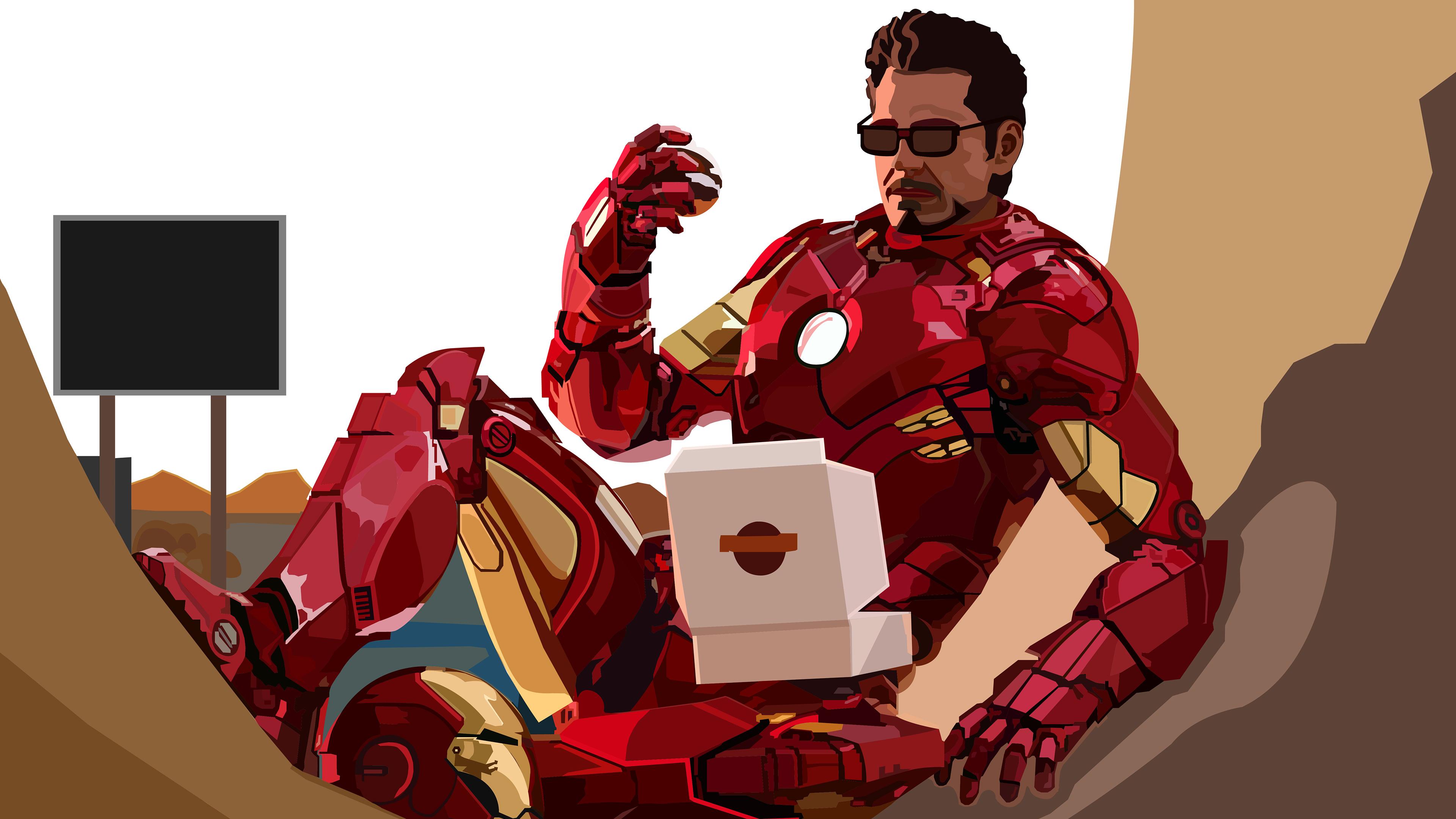 iron man eating donuts 2020 4k 1604347917 - Iron Man Eating Donuts 2020 4k - Iron Man Eating Donuts 2020 4k wallpapers