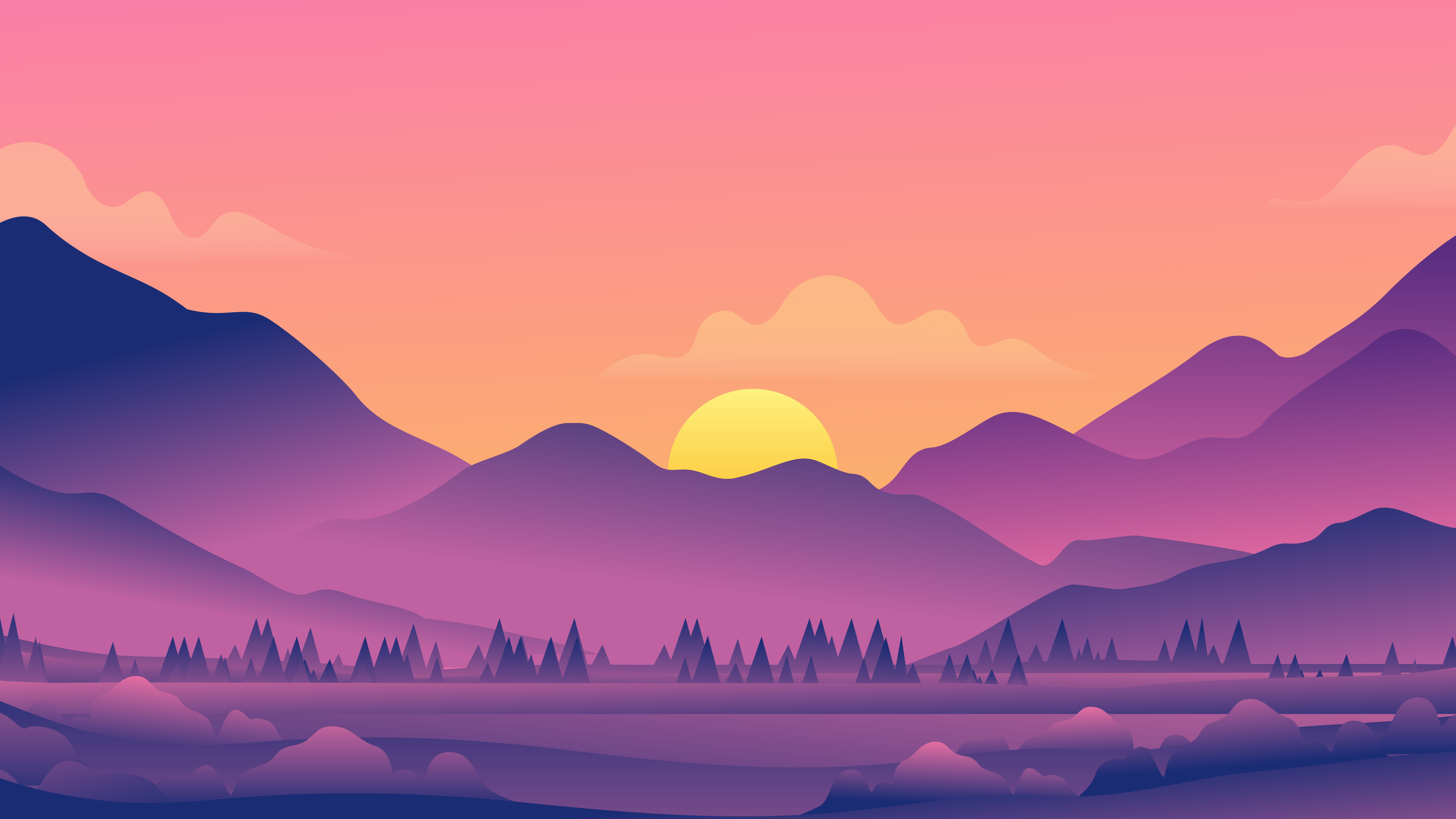beautiful evening landscape minimal 4k 1608658977 - Beautiful Evening Landscape Minimal 4k - Beautiful Evening Landscape Minimal 4k wallpapers
