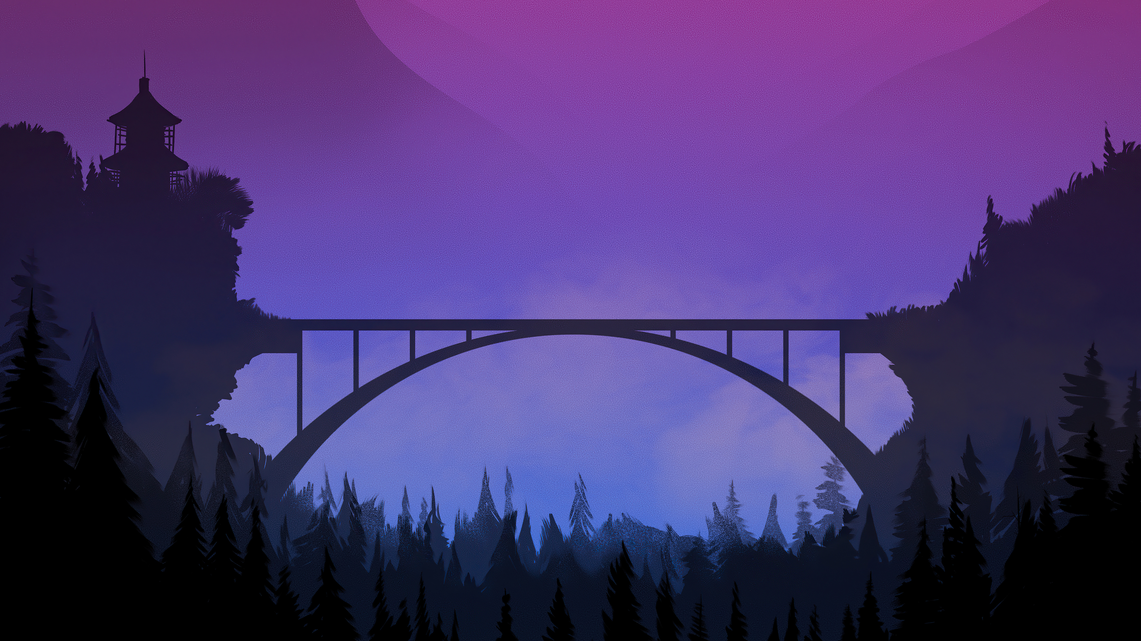 bridge sunset minimal 4k 1608659193 - Bridge Sunset Minimal 4k - Bridge Sunset Minimal 4k wallpapers