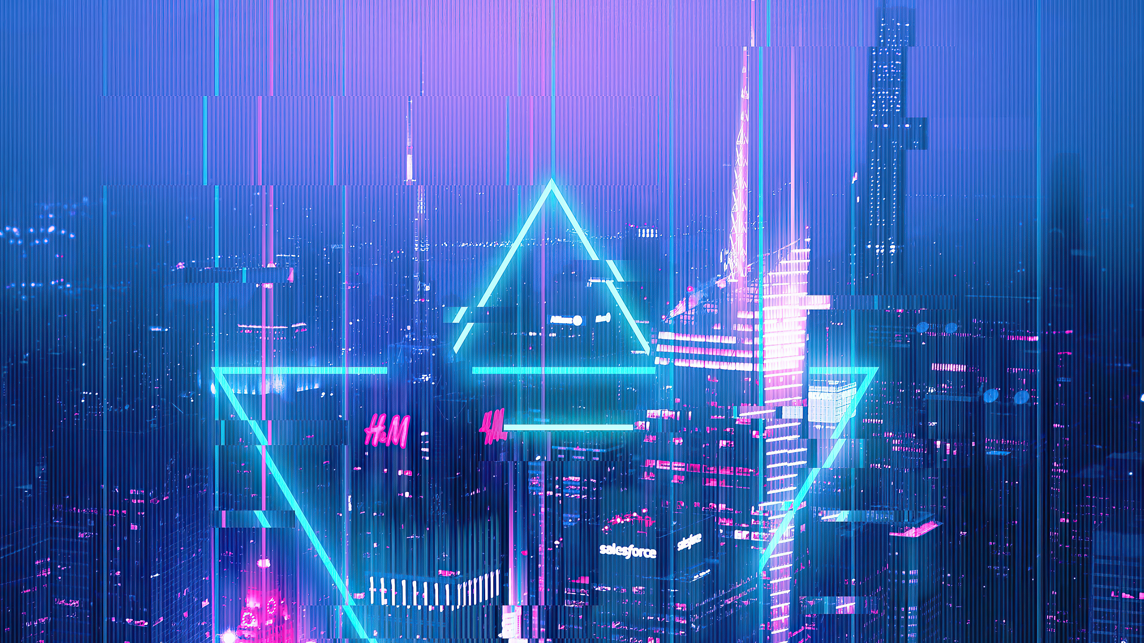 city glitch 4k 1608658629 - City Glitch 4k - City Glitch 4k wallpapers