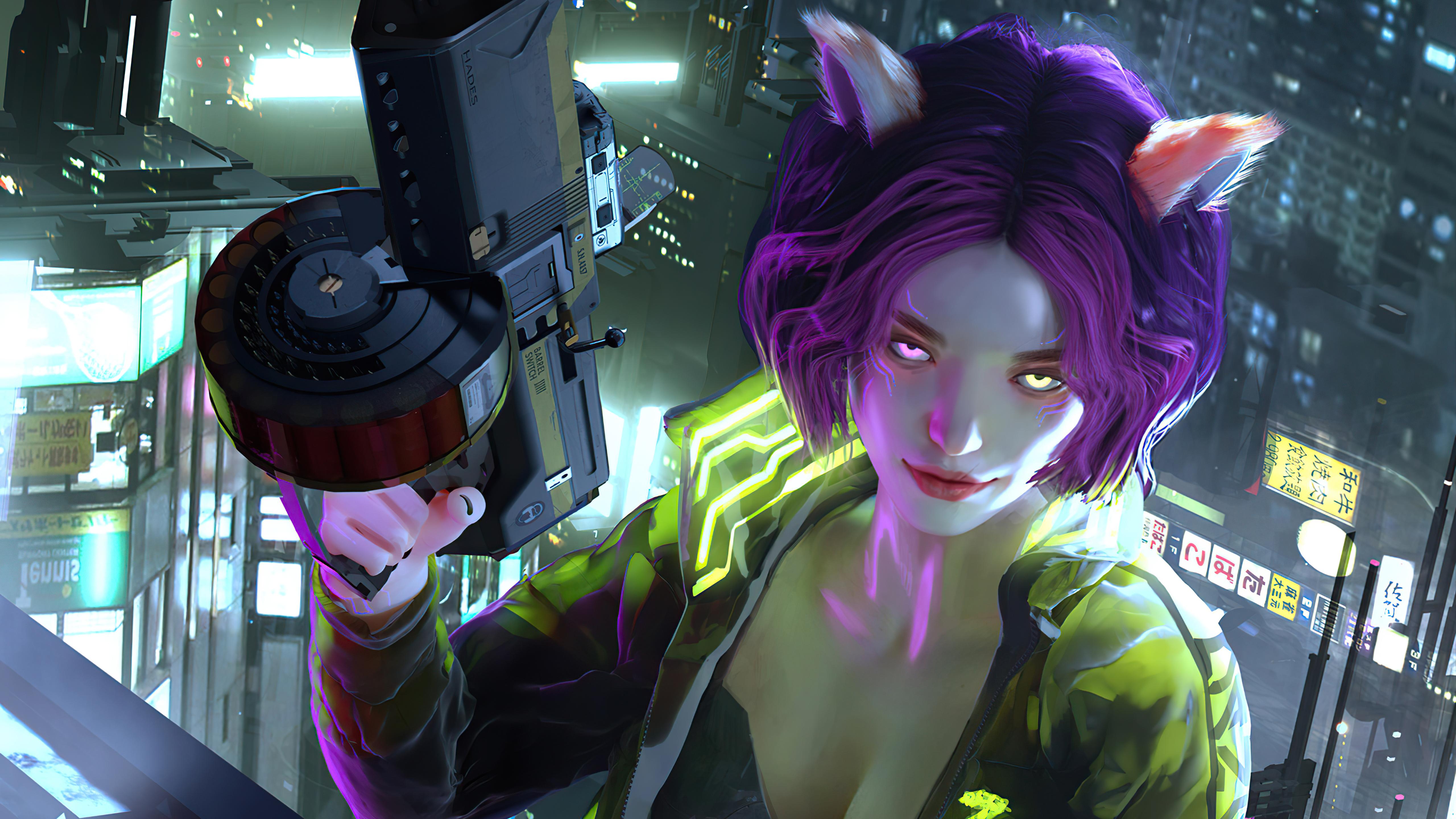 cyberpunk red girl glowing eyes 4k 1608659078 - Cyberpunk Red Girl Glowing Eyes 4k - Cyberpunk Red Girl Glowing Eyes 4k wallpapers
