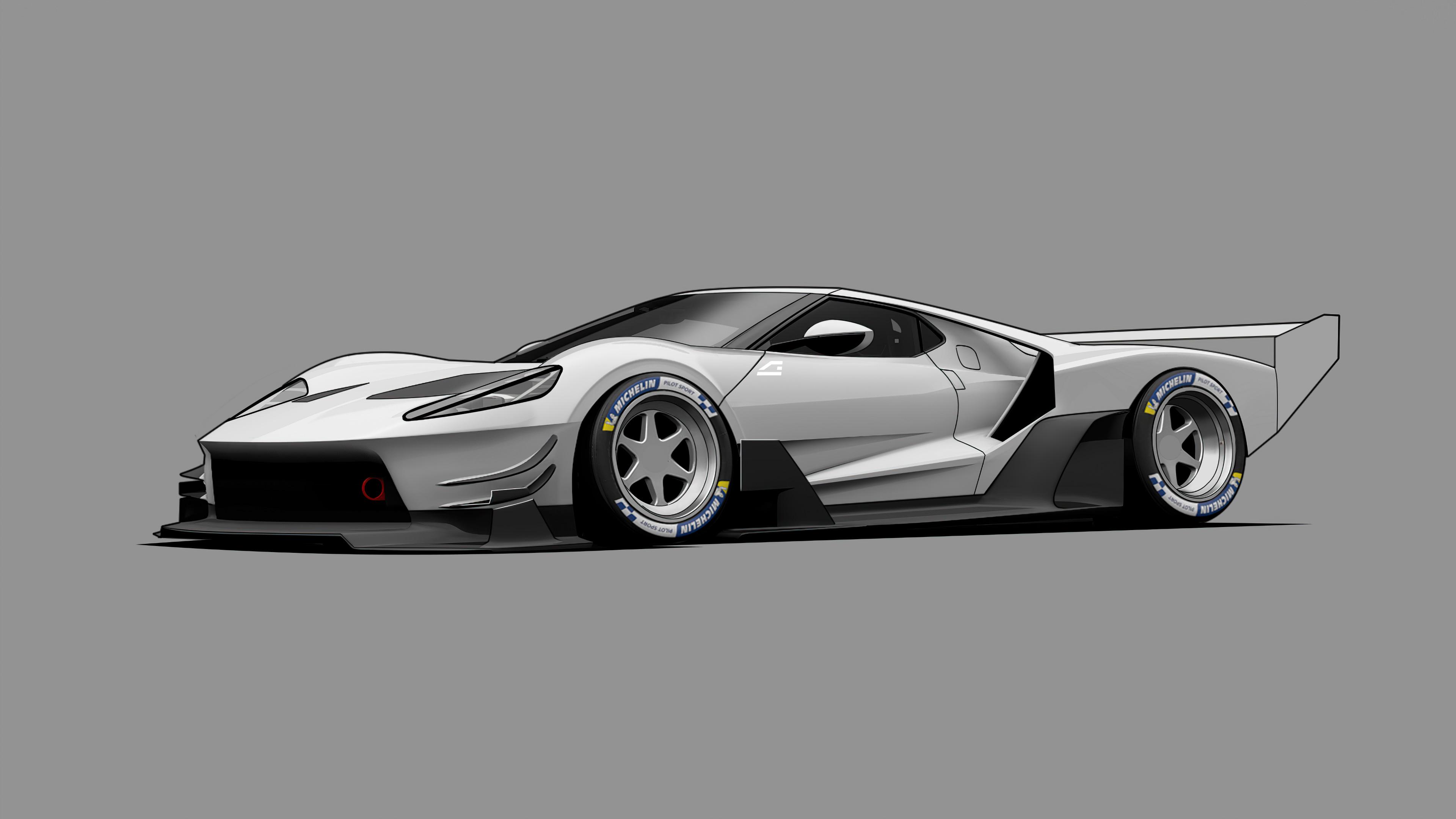 ford gt c vgt minimal grey 4k 1608907628 - Ford GT C Vgt Minimal Grey 4k - Ford GT C Vgt Minimal Grey 4k wallpapers