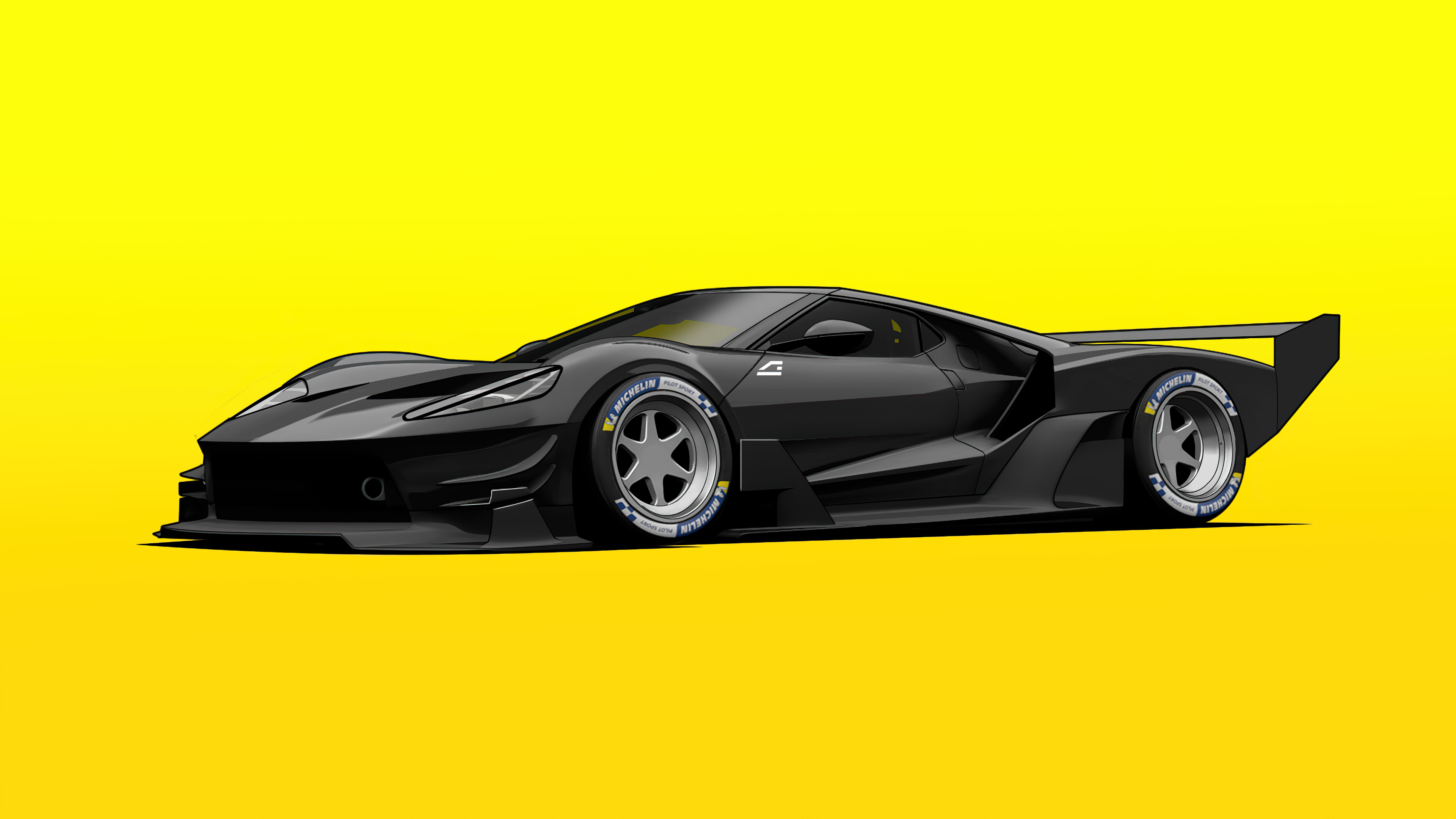 ford gt c vgt minimal yellow 4k 1608907628 - Ford GT C Vgt Minimal Yellow 4k - Ford GT C Vgt Minimal Yellow 4k wallpapers