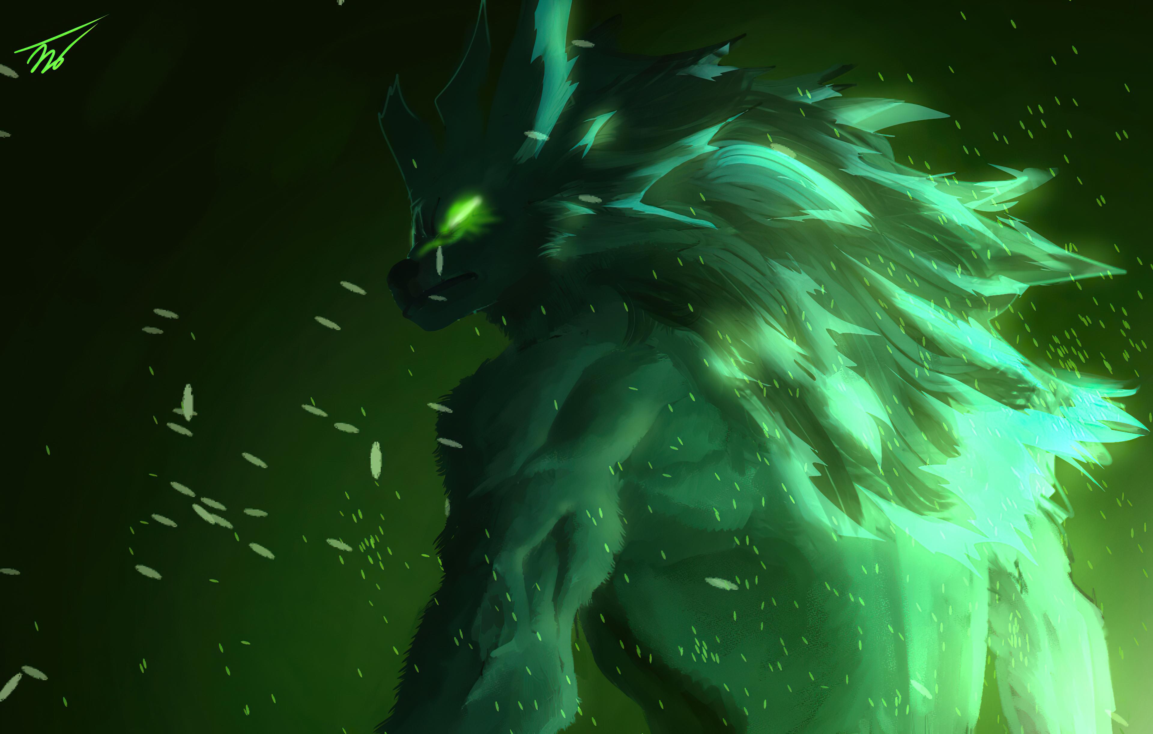 green werewolf 4k 1608581857 - Green Werewolf 4k - Green Werewolf 4k wallpapers