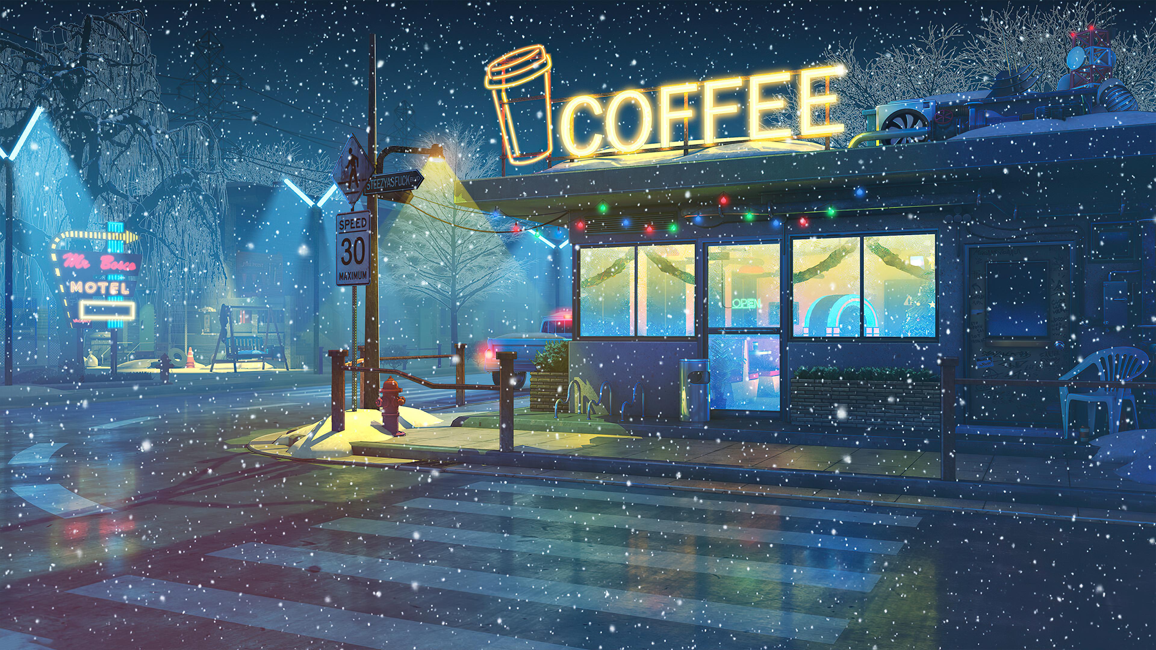 lo fi cafe 4k 1608581287 - Lo Fi Cafe 4k - Lo Fi Cafe 4k wallpapers