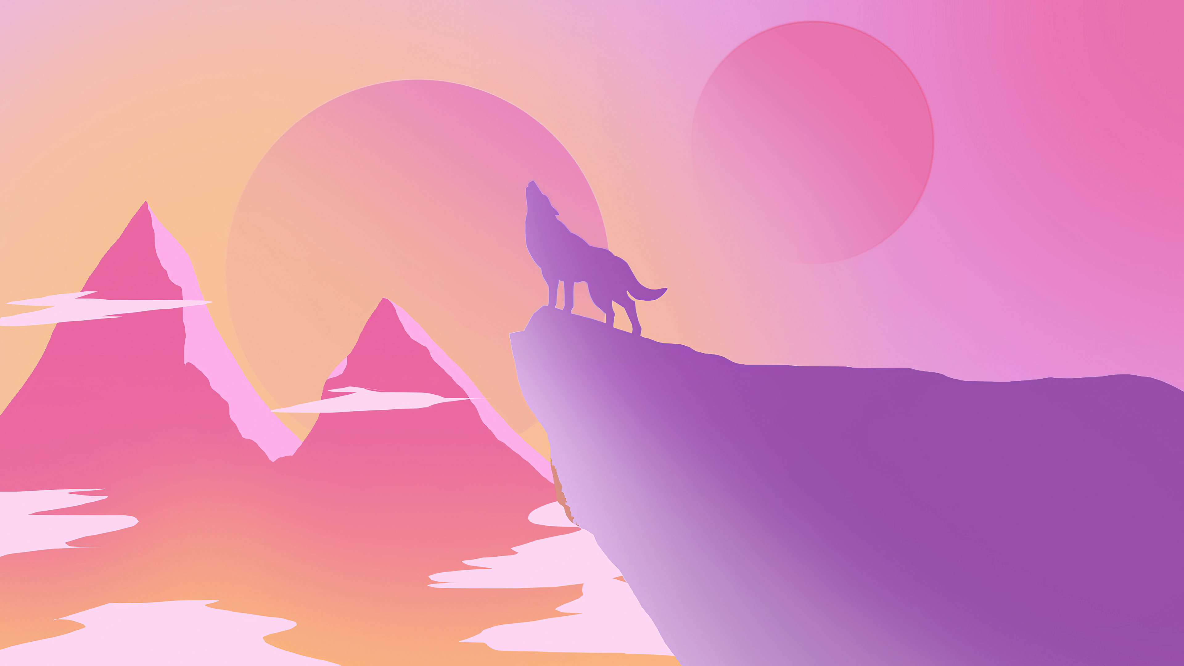 lone wolf howling minimal 4k 1608622906 - Lone Wolf Howling Minimal 4k - Lone Wolf Howling Minimal 4k wallpapers