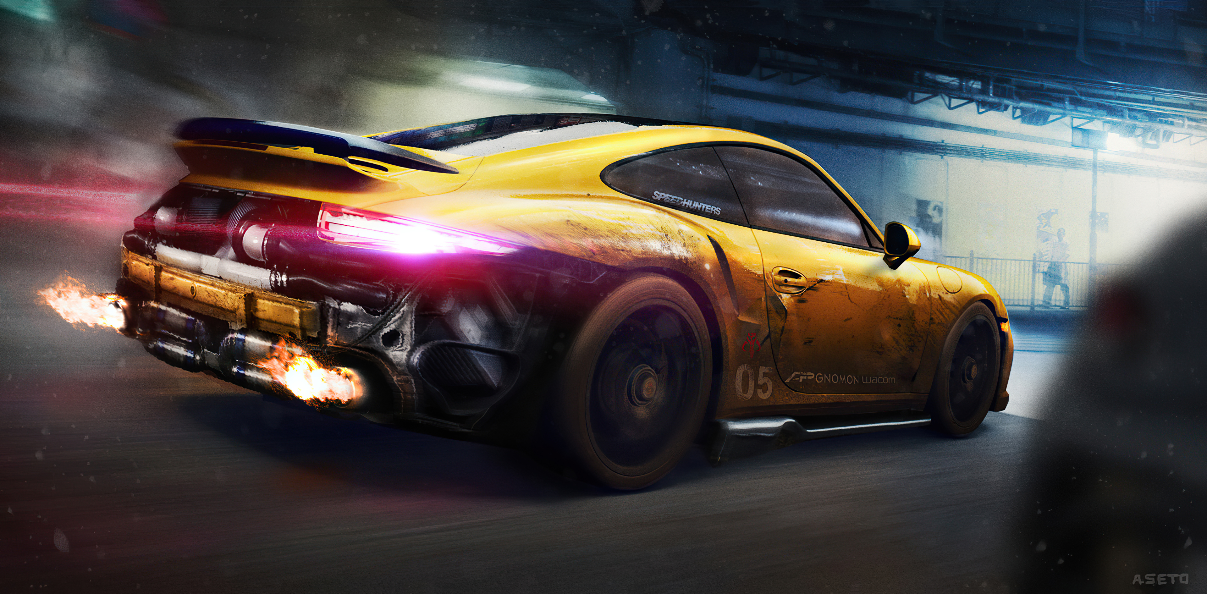 porsche 911 turbo s night ride 4k 1608916285 - Porsche 911 Turbo S Night Ride 4k - Porsche 911 Turbo S Night Ride 4k wallpapers