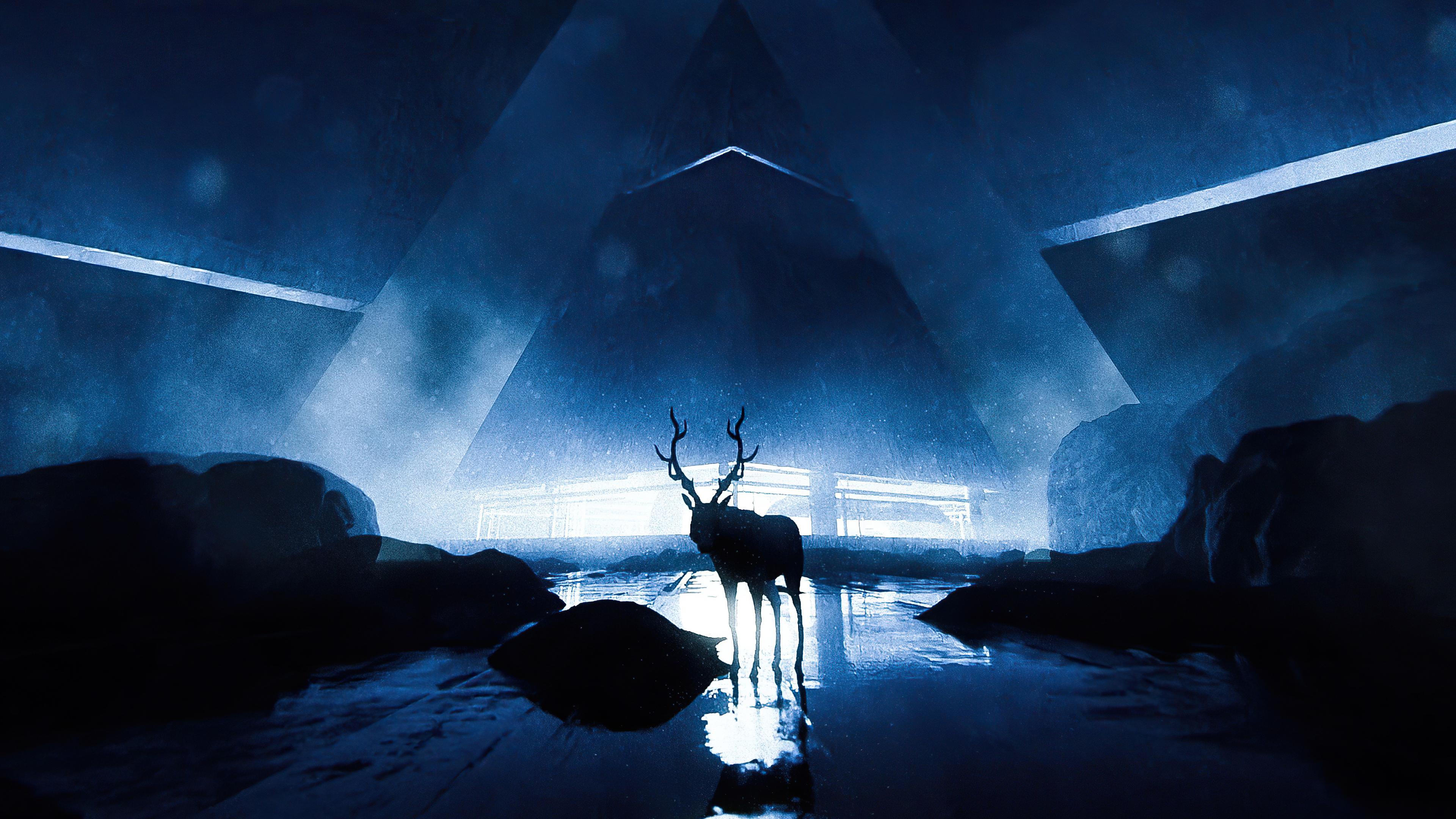 reindeer scifi 4k 1608622924 - Reindeer Scifi 4k - Reindeer Scifi 4k wallpapers