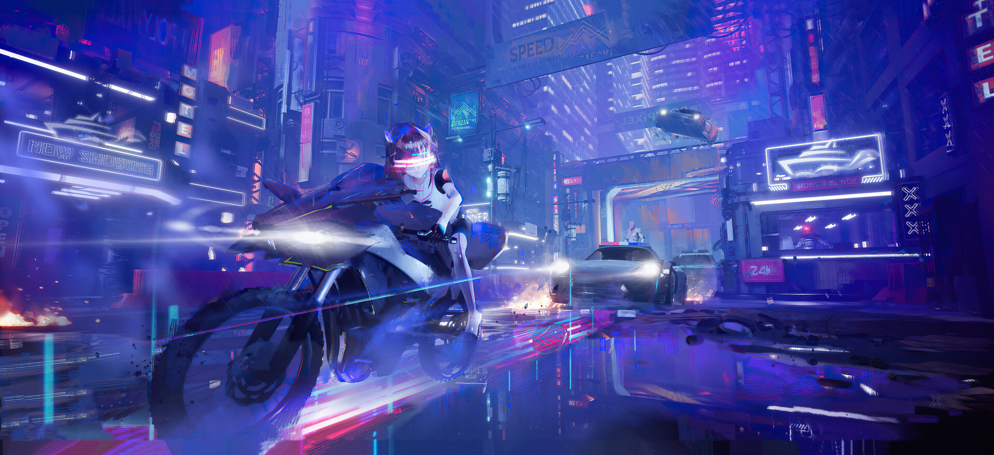 scifi girl bike cyberpunk 4k 1608581778 - Scifi Girl Bike Cyberpunk 4k - Scifi Girl Bike Cyberpunk 4k wallpapers