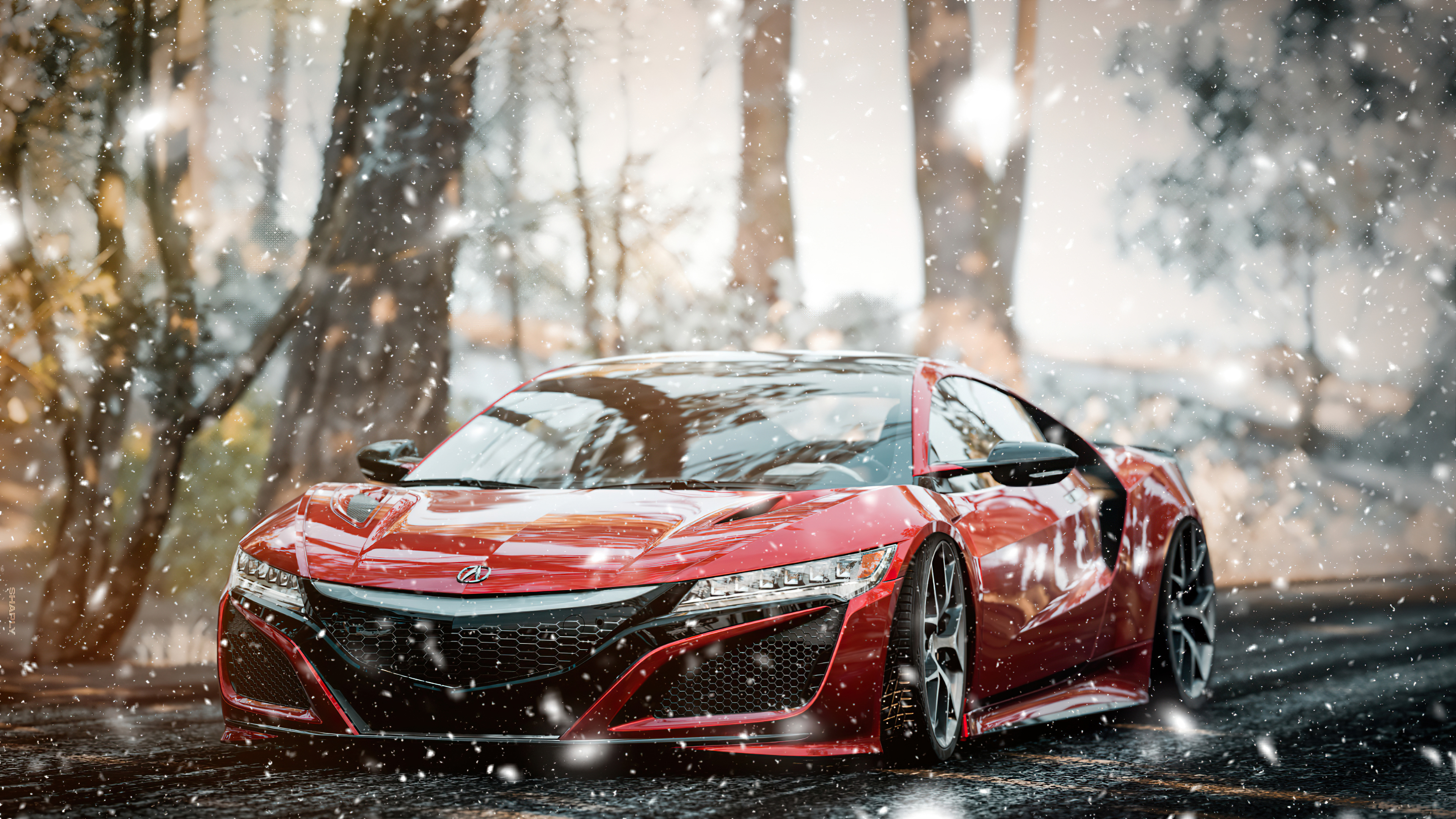 acura nsx forza horizon 4 4k 1615134027 - Acura NSX Forza Horizon 4 4k - Acura NSX Forza Horizon 4 4k wallpapers