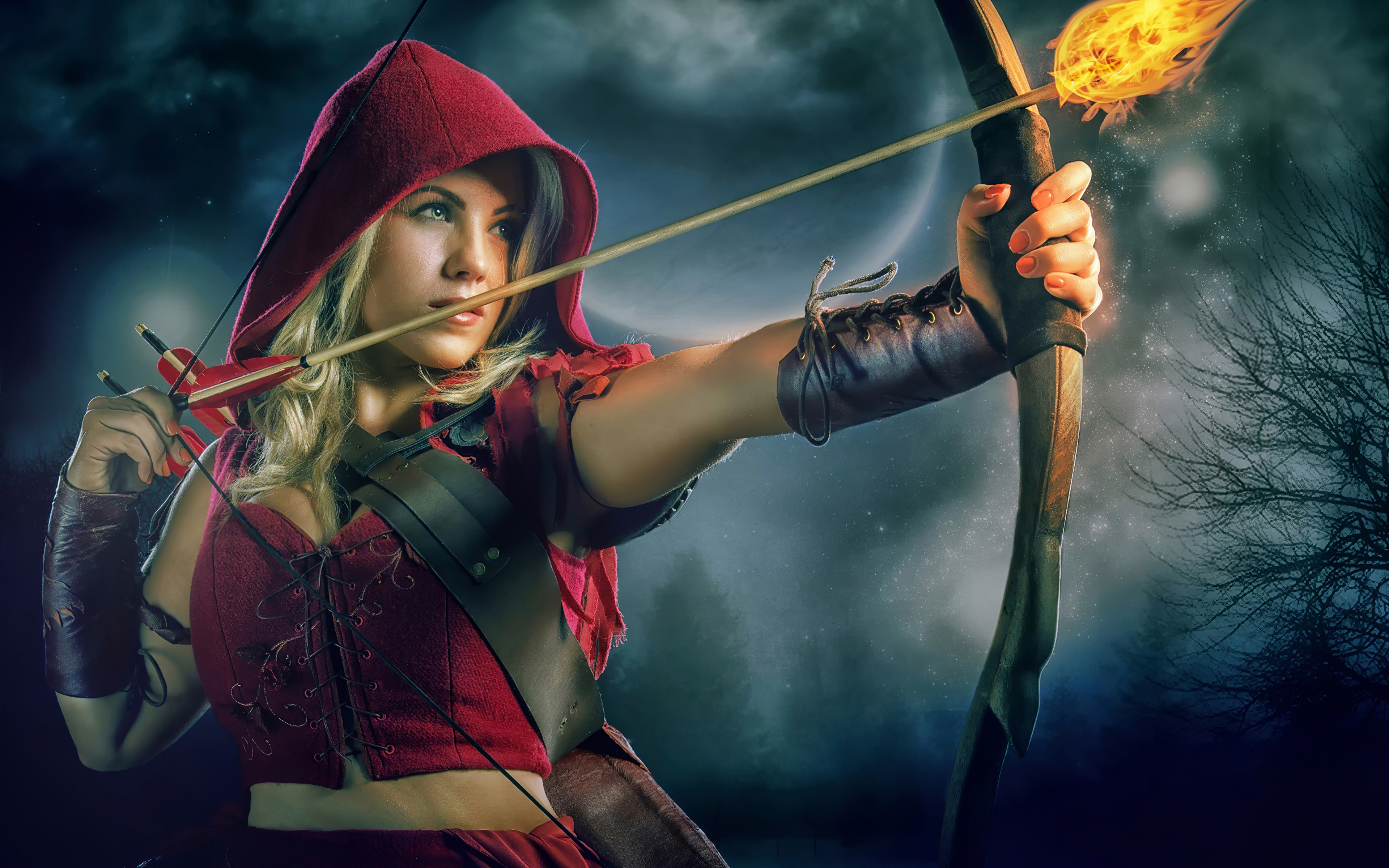 archer girl cosplay 4k 1616093369 - Archer Girl Cosplay 4k - Archer Girl Cosplay 4k wallpapers