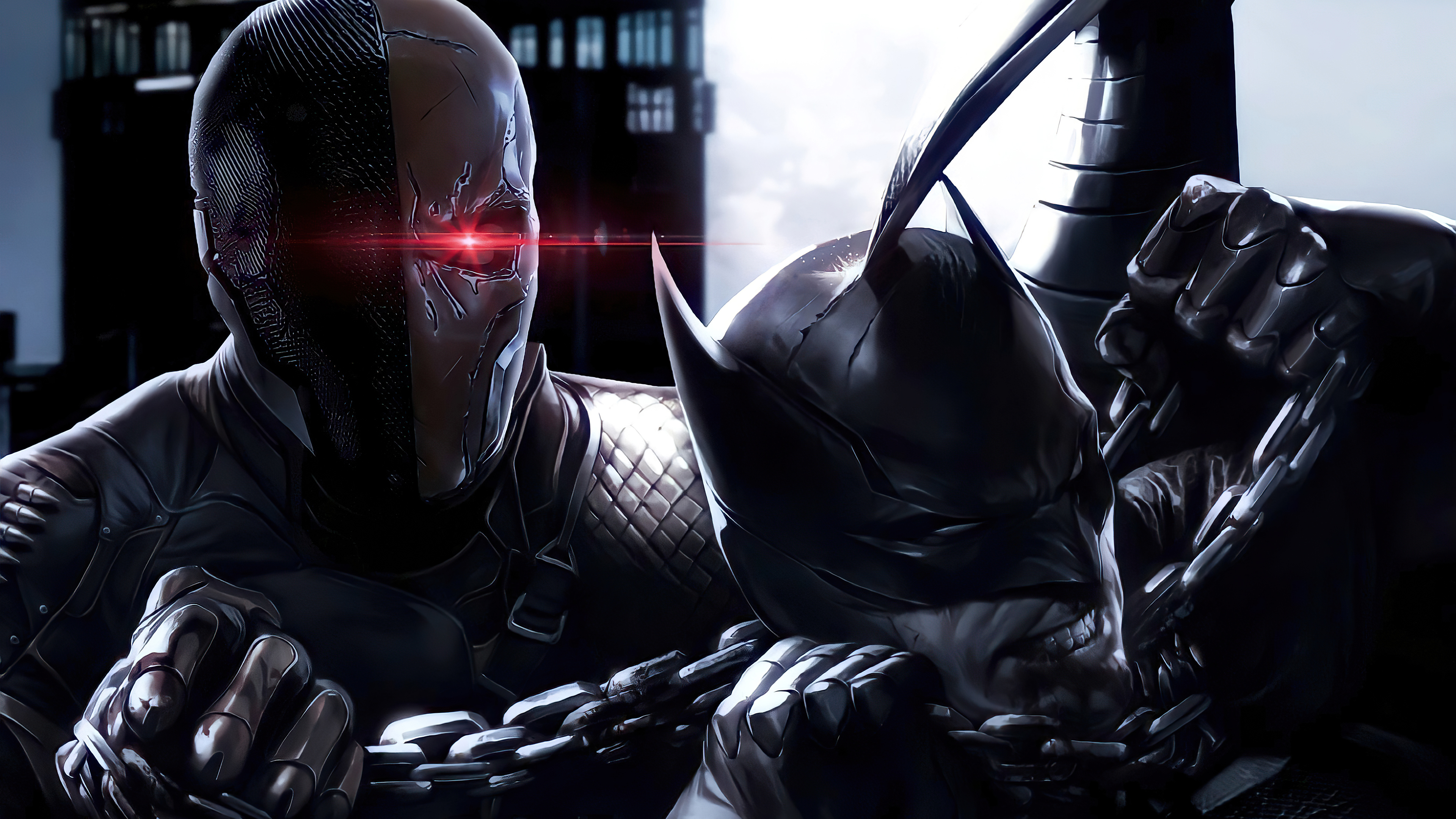 batman v deathstroke 4k 1616956386 - Batman V Deathstroke 4k - Batman V Deathstroke 4k wallpapers