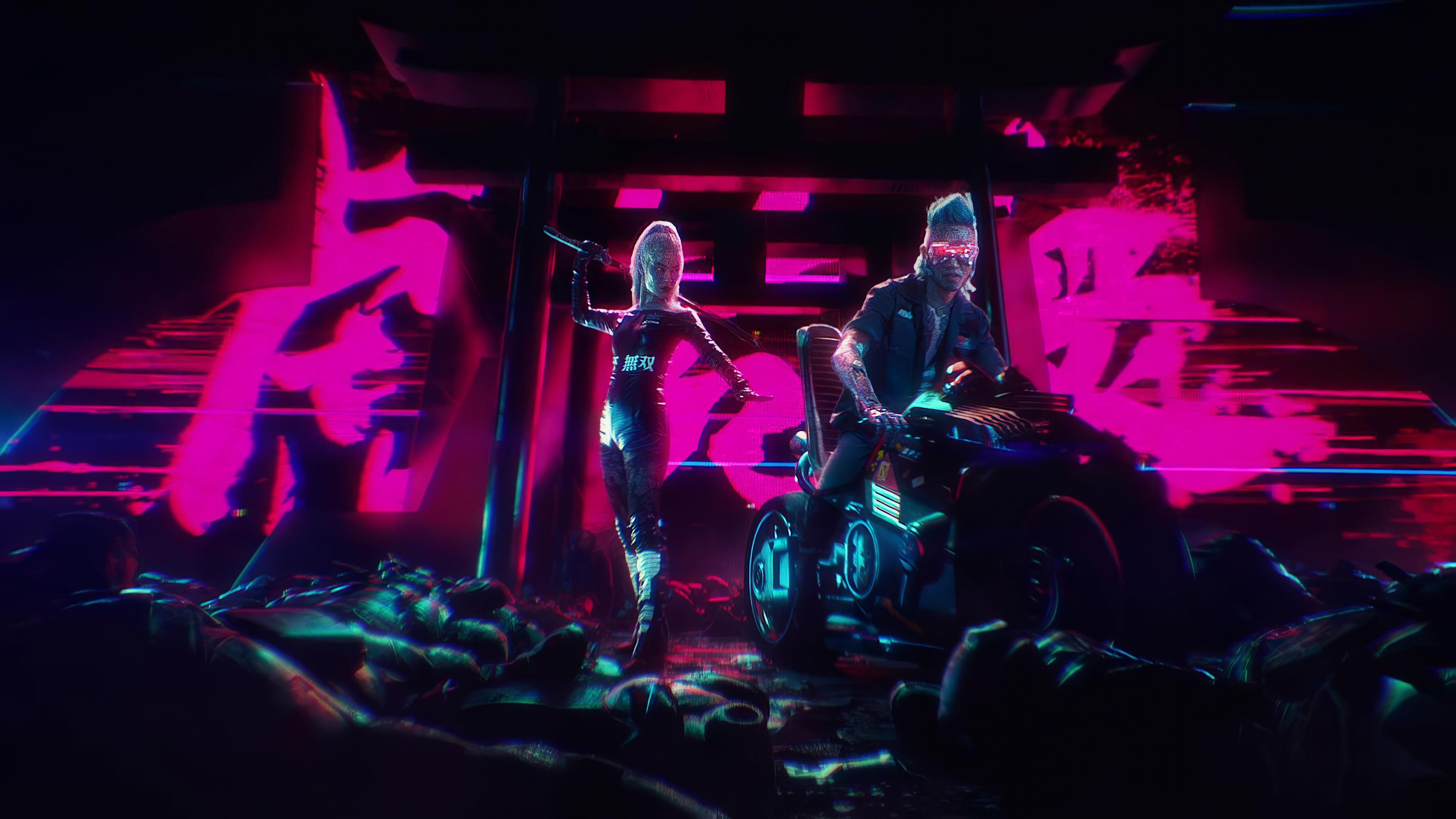biker boy and girl cyberpunk 2077 4k 1614853036 - Biker Boy And Girl Cyberpunk 2077 4k - Biker Boy And Girl Cyberpunk 2077 4k wallpapers