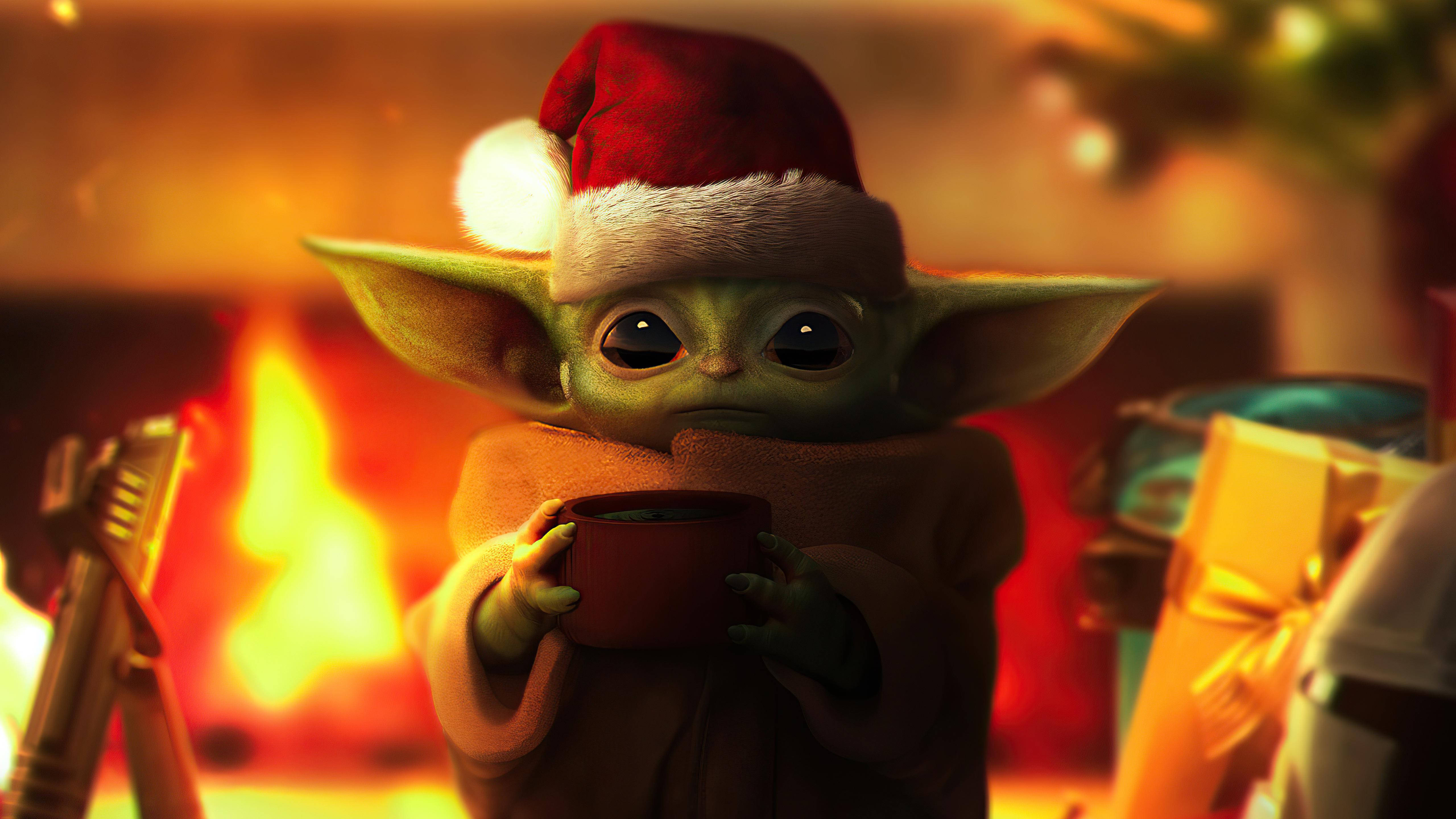 christmas grogu 4k 1615204822 - Christmas Grogu 4k - Christmas Grogu 4k wallpapers