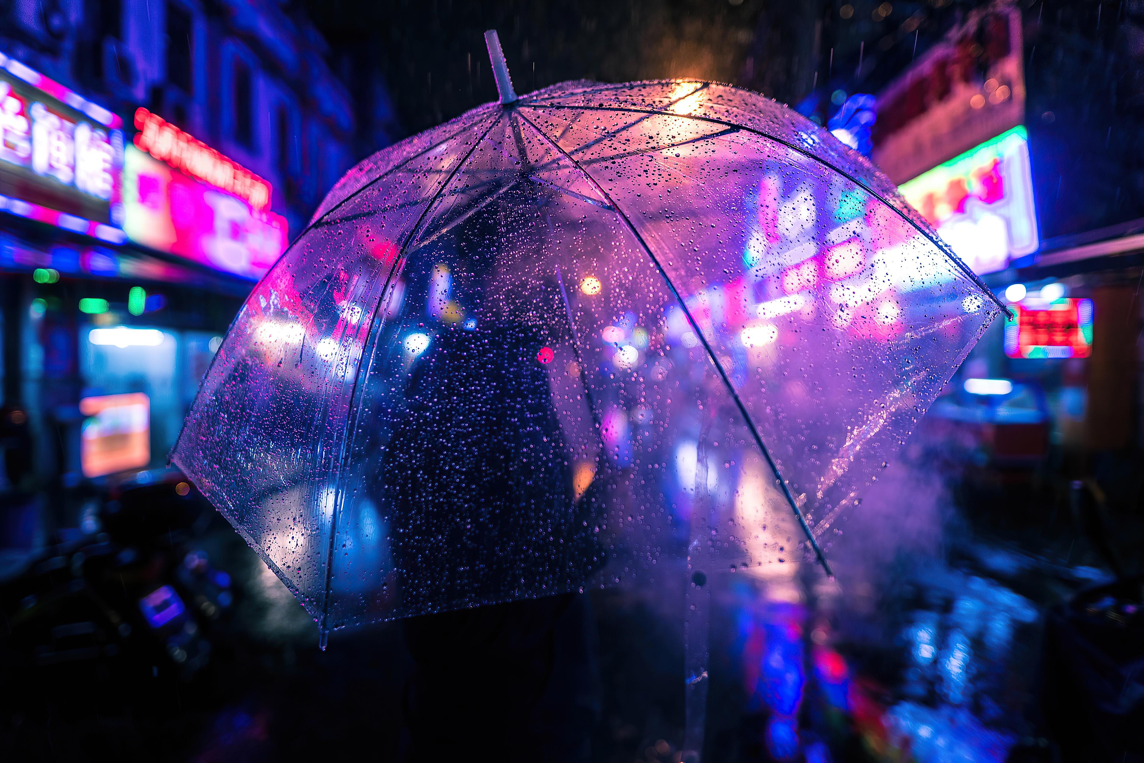 closeup umbrella neon night photography 4k 1616094238 - Closeup Umbrella Neon Night Photography 4k - Closeup Umbrella Neon Night Photography 4k wallpapers