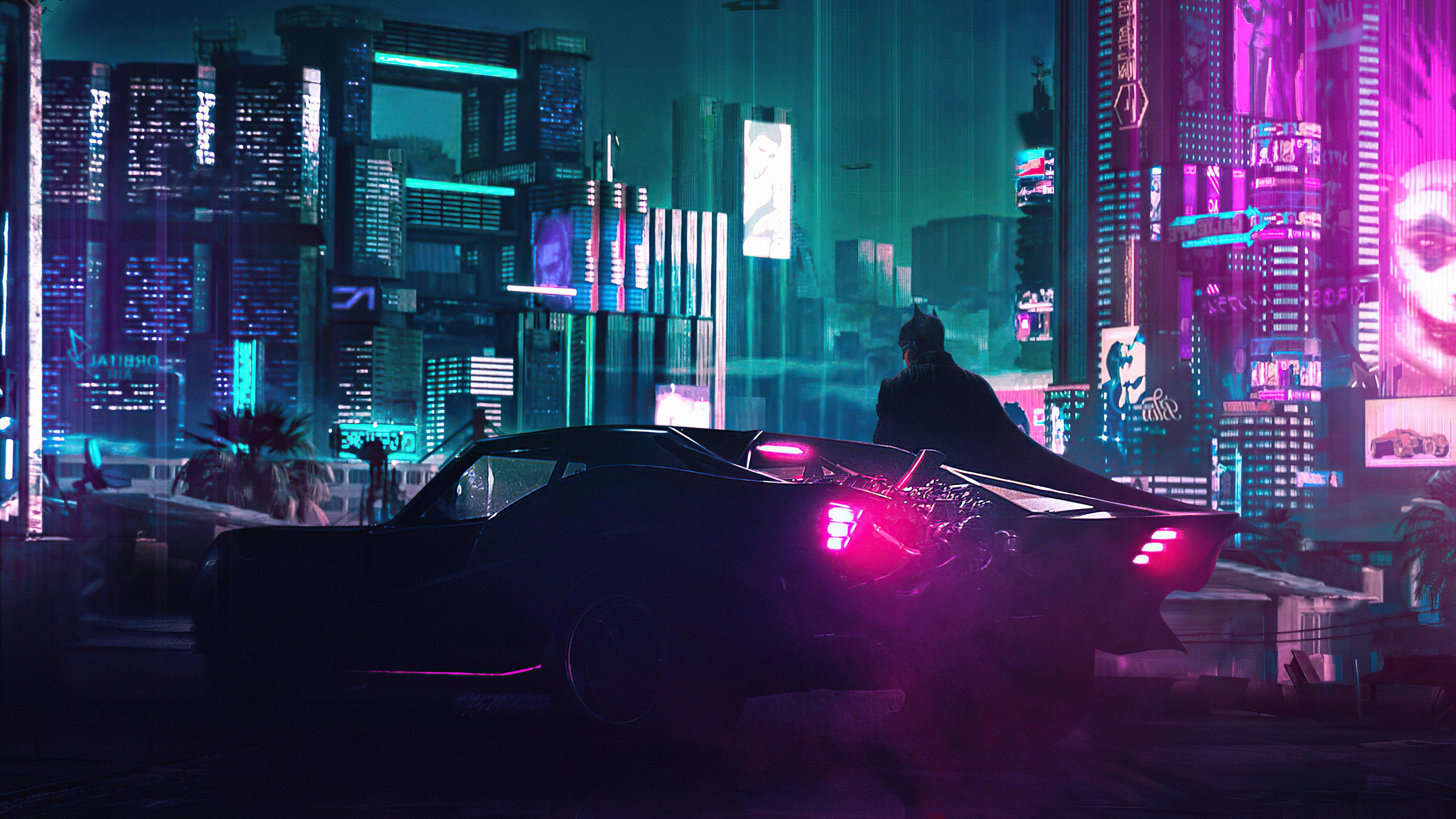 cyberpunk x the batman 4k 1615195602 - Cyberpunk X The Batman 4k - Cyberpunk X The Batman 4k wallpapers