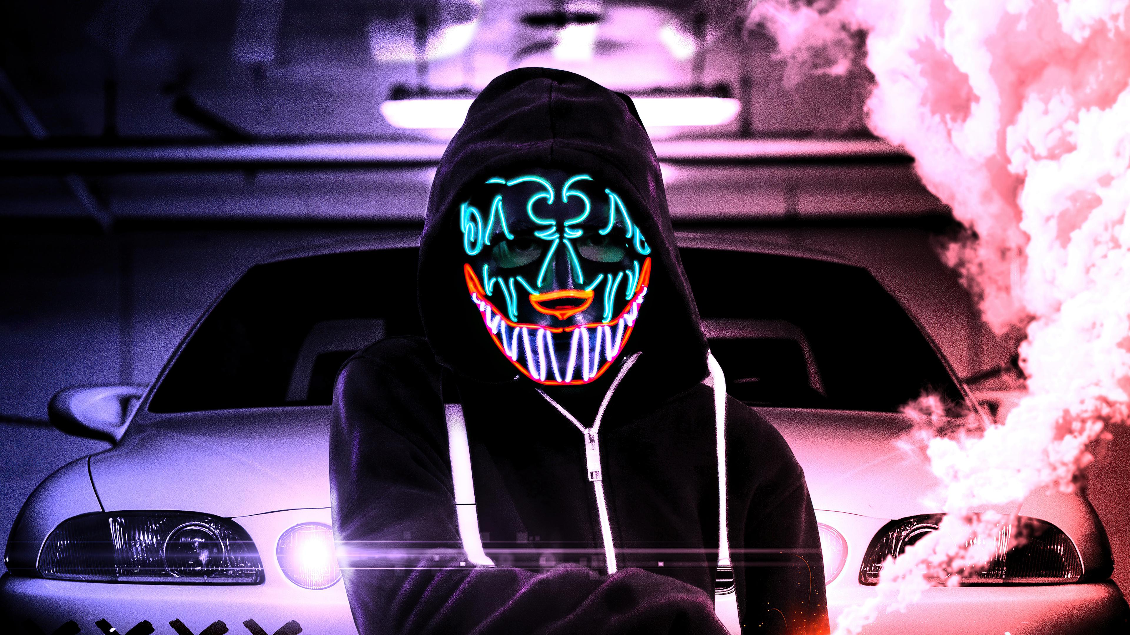 glowing mask pattern 4k 1616093169 - Glowing Mask Pattern 4k - Glowing Mask Pattern 4k wallpapers