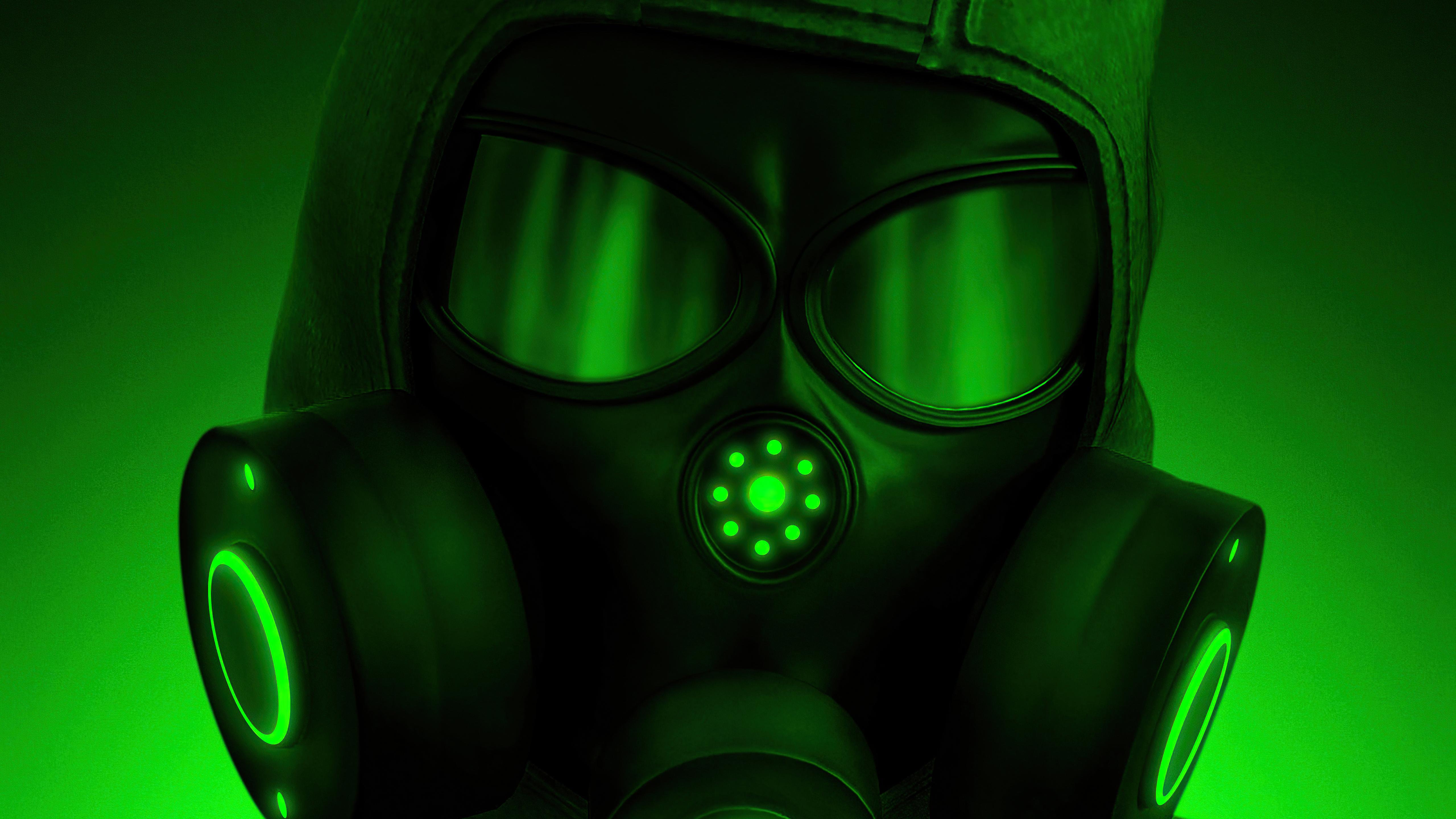 hazardous mask green 4k 1616874394 - Hazardous Mask Green 4k - Hazardous Mask Green 4k wallpapers