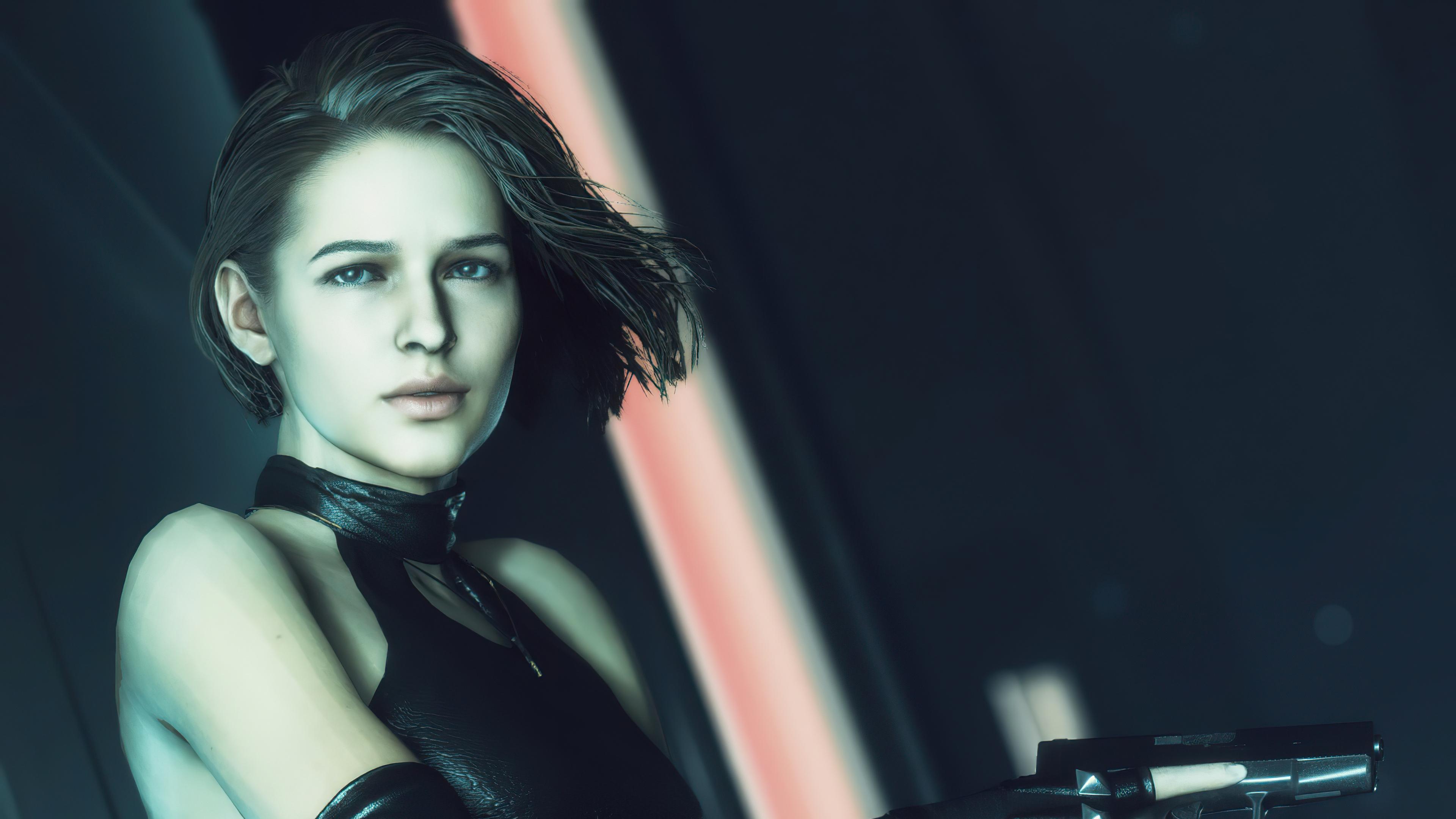 jill resident evil with gun 4k 1615132373 - Jill Resident Evil With Gun 4k - Jill Resident Evil With Gun 4k wallpapers