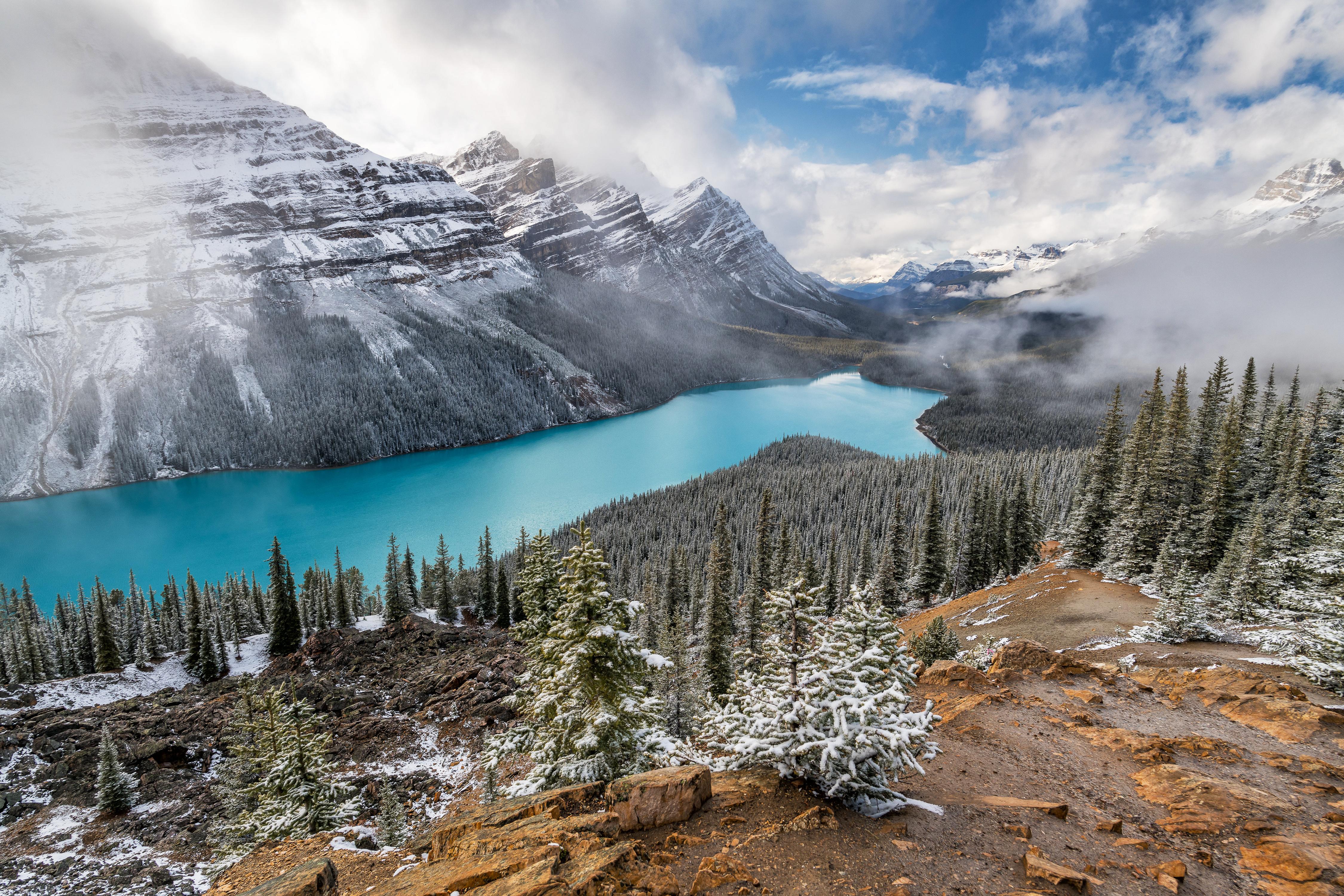 lake alberta scenery 4k 1615197314 - Lake Alberta Scenery 4k - Lake Alberta Scenery 4k wallpapers