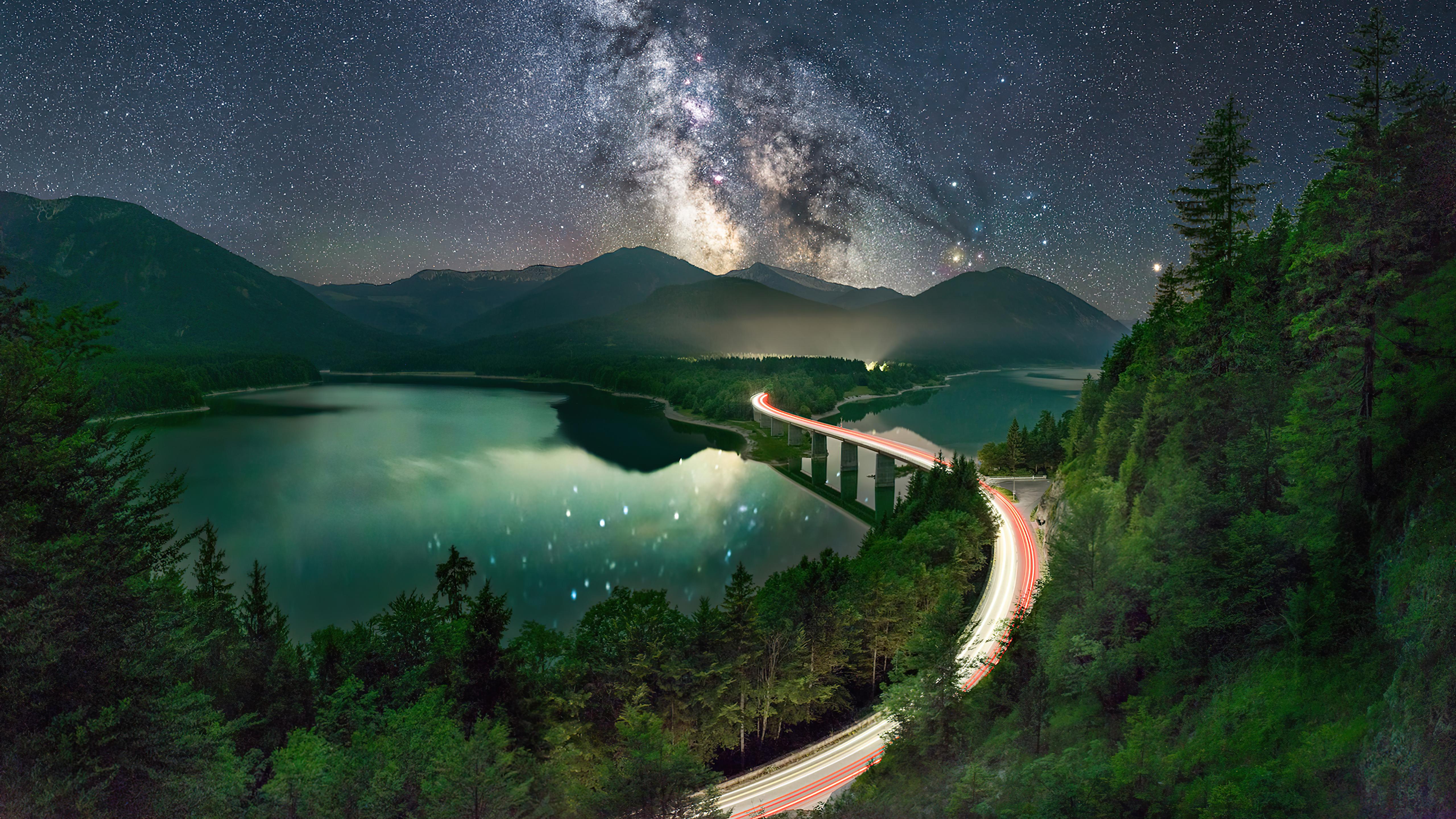 milky way road long exposure 4k 1615197385 - Milky Way Road Long Exposure 4k - Milky Way Road Long Exposure 4k wallpapers